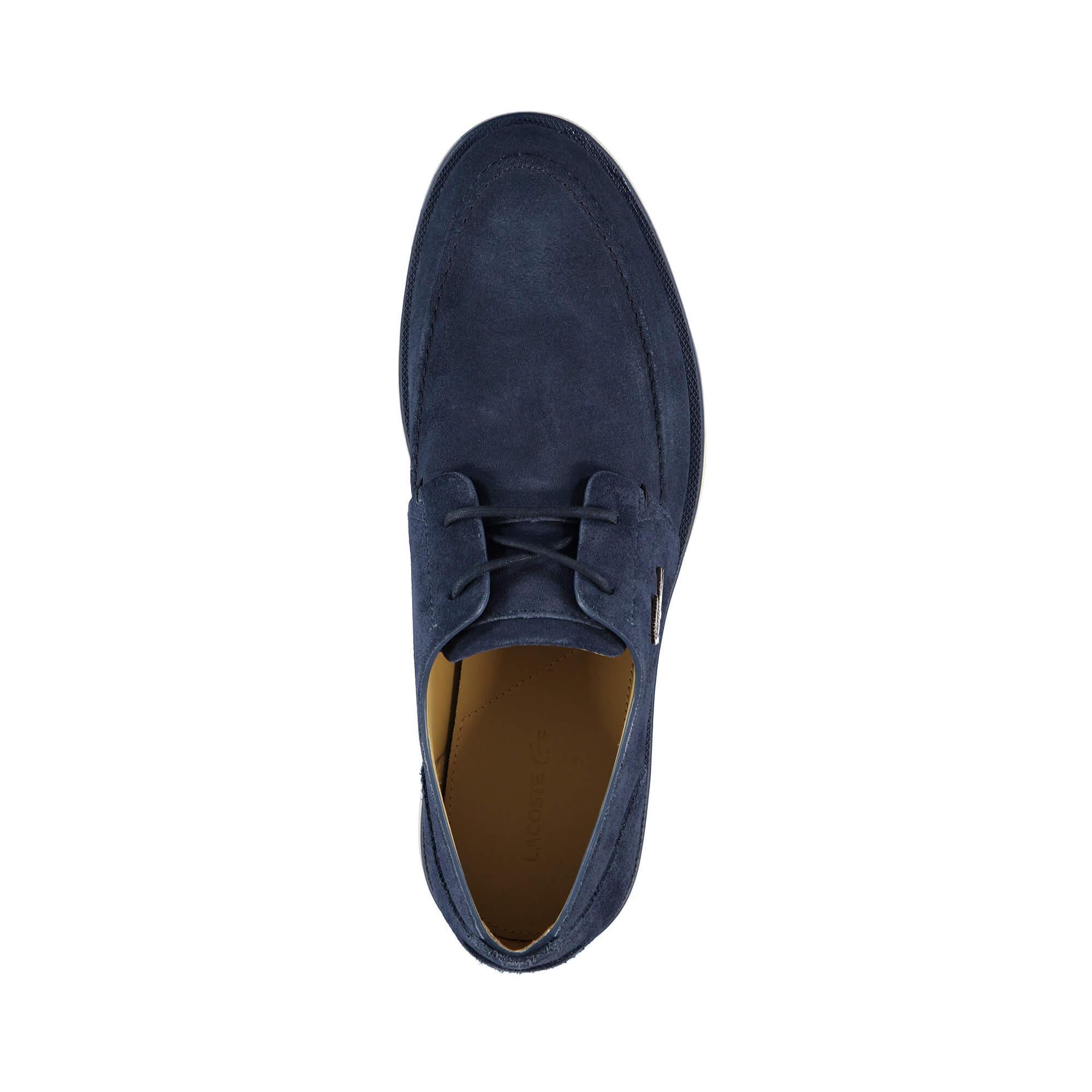 Lacoste Laccord Deck Erkek Lacivert Ayakkabı