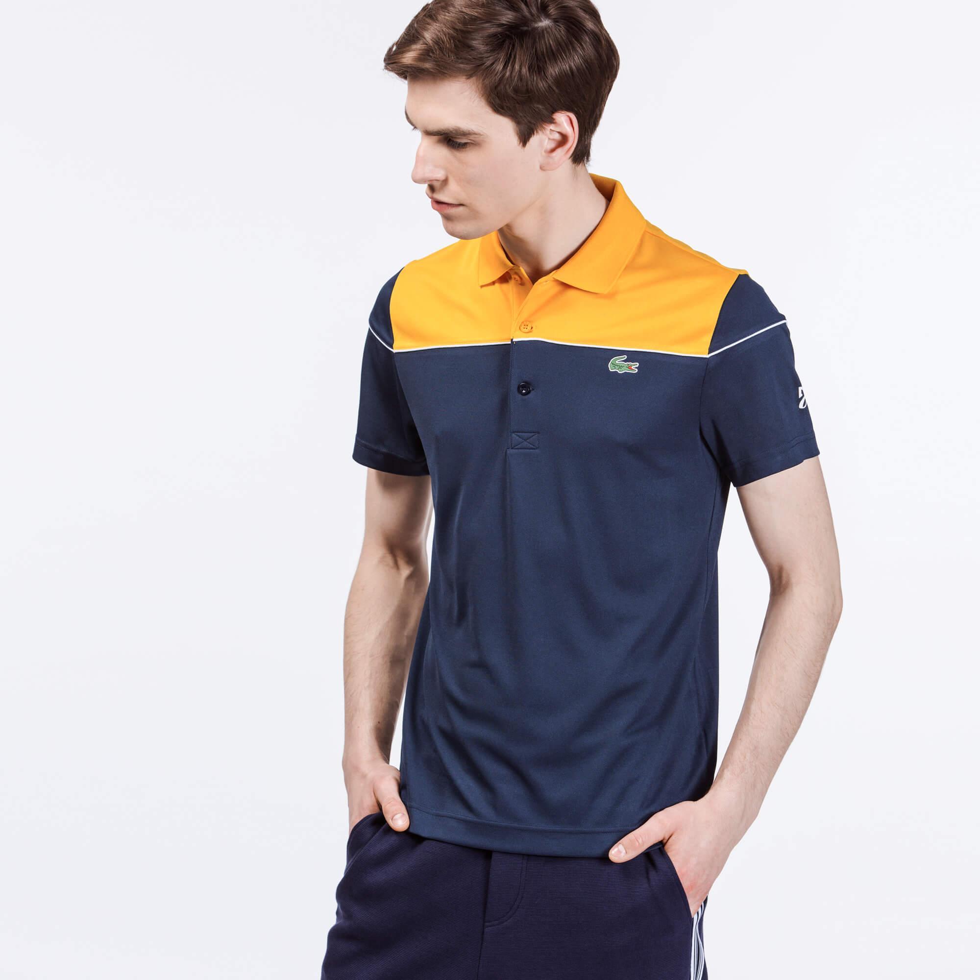 Lacoste Erkek Lacivert Novak Djokovic Polo