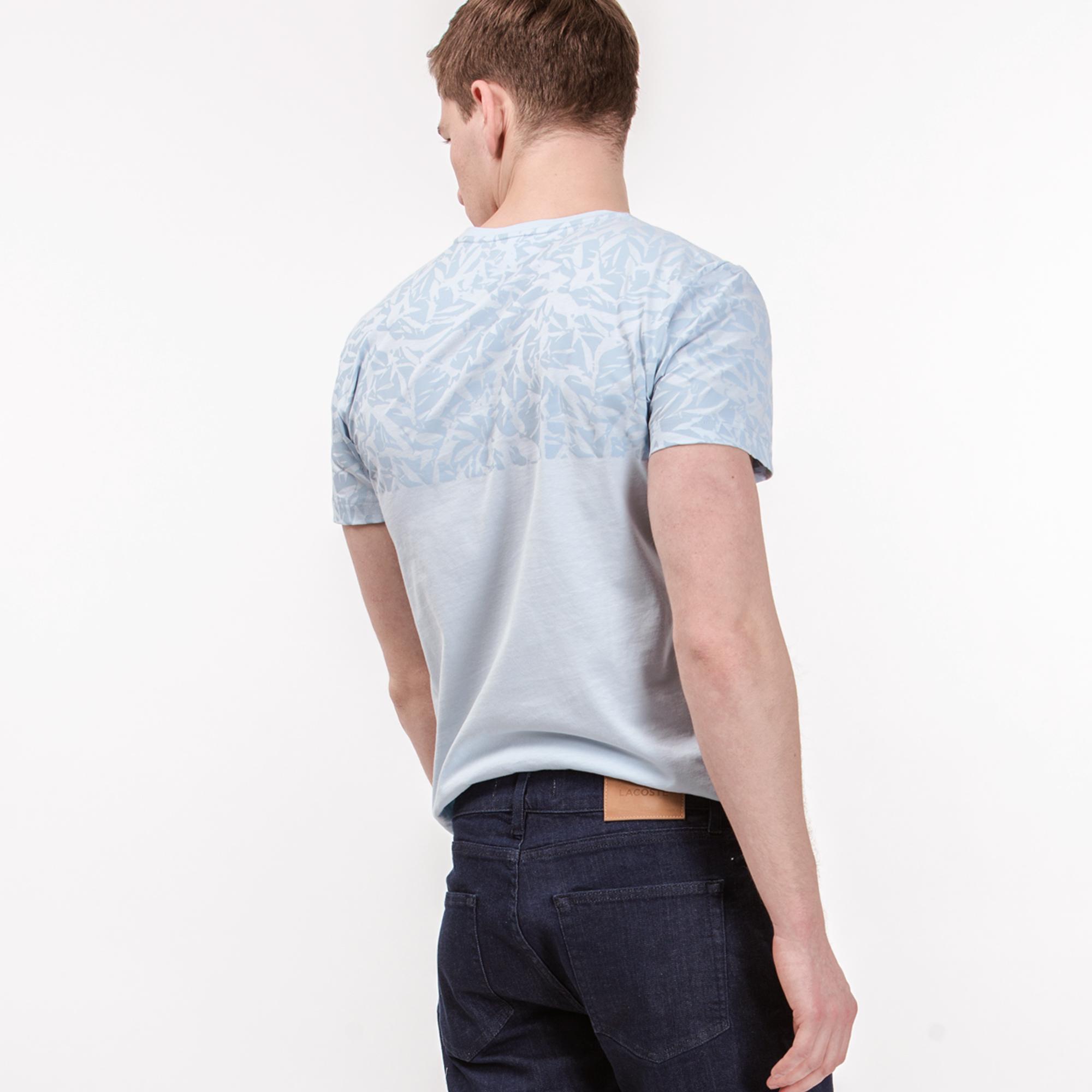Lacoste Erkek Mavi T-Shirt