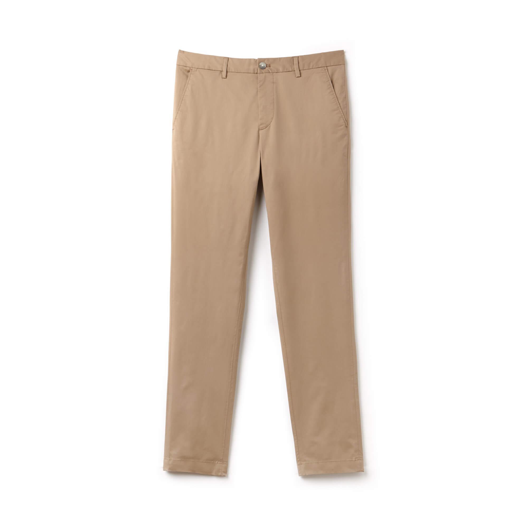 Lacoste Erkek Kahverengi Chino Pantolon