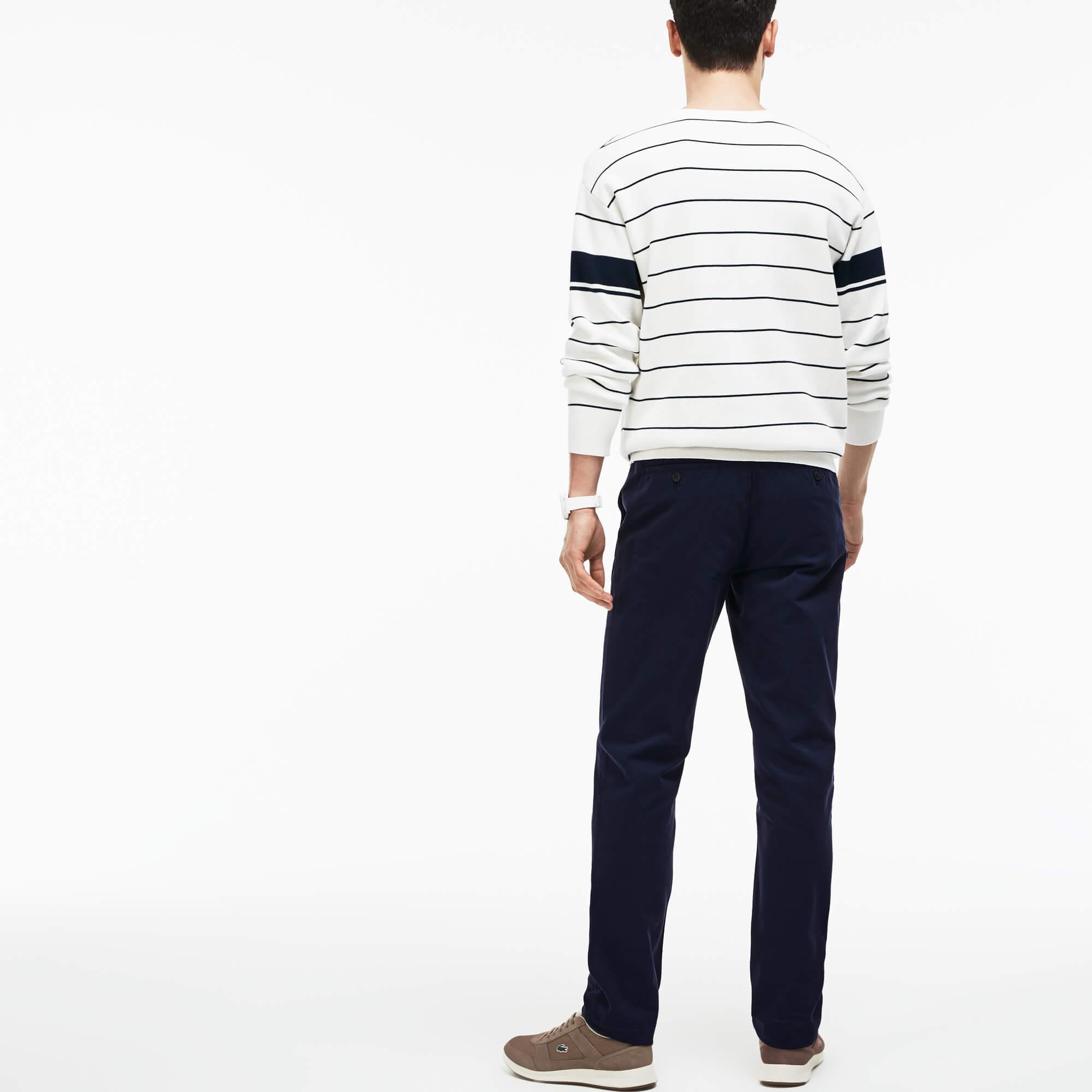 Lacoste Erkek Gabardin Lacivert Pantolon