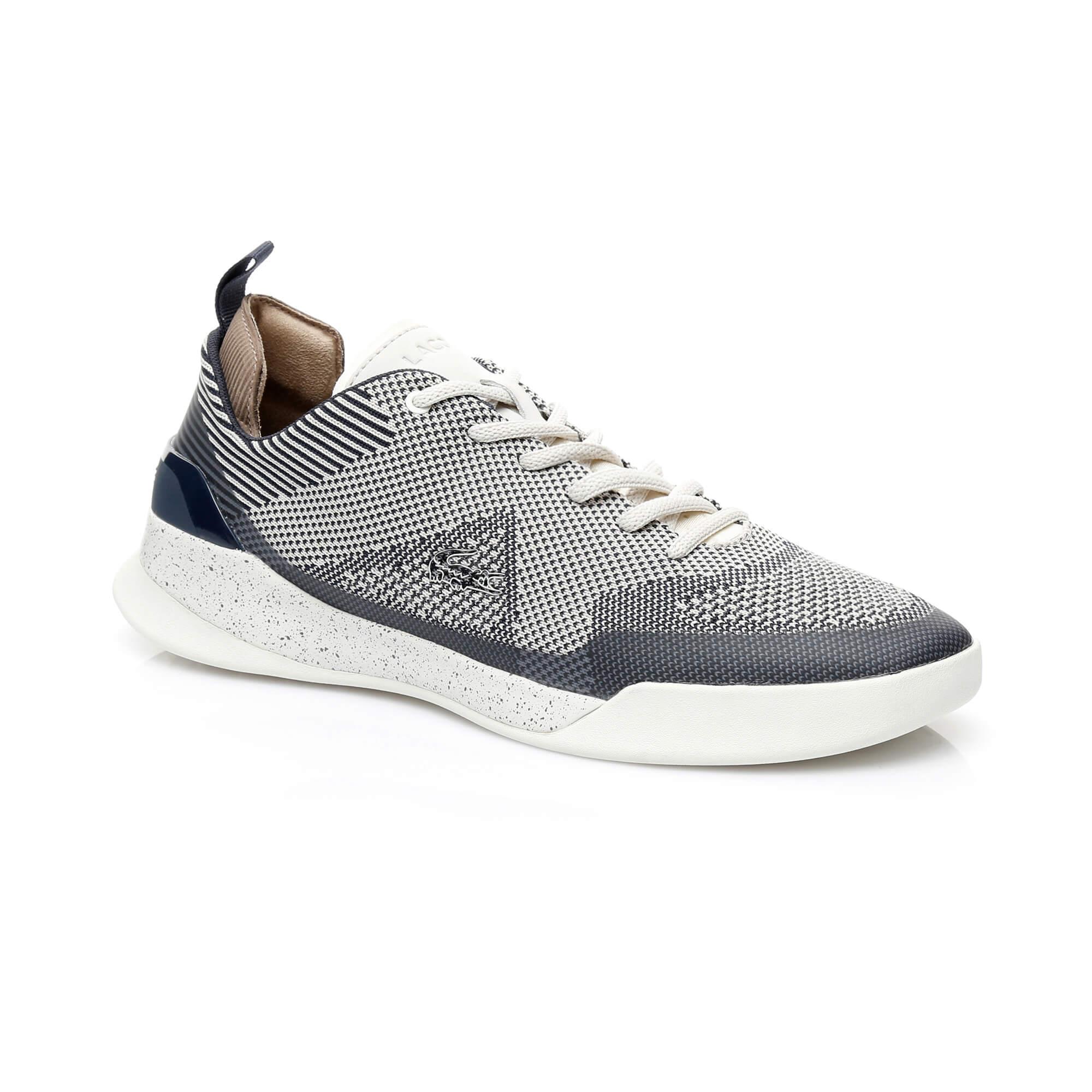 Lacoste LT Dual Elite Erkek Gri Sneaker