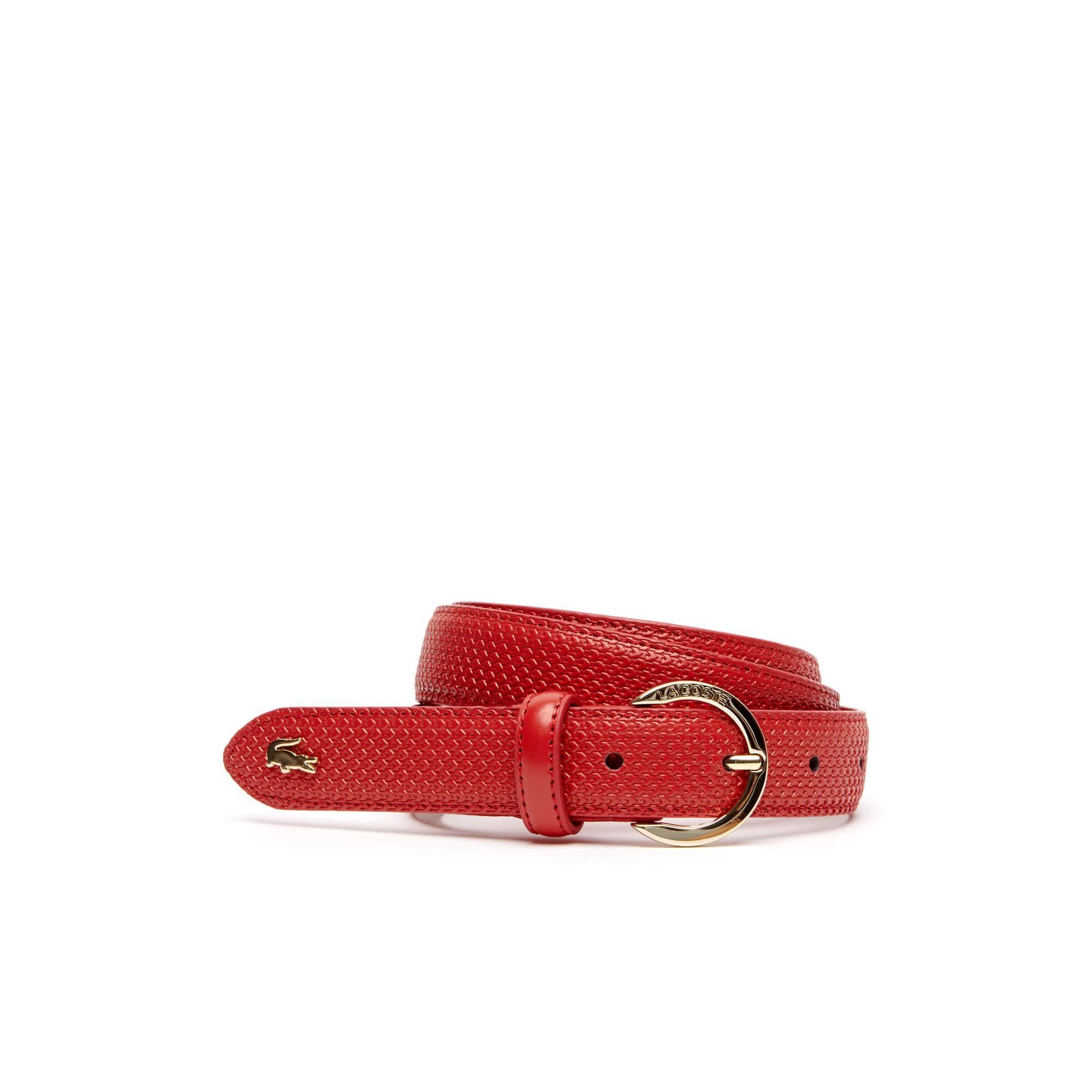 Lacoste Chantaco Kadın Kırmızı Kemer