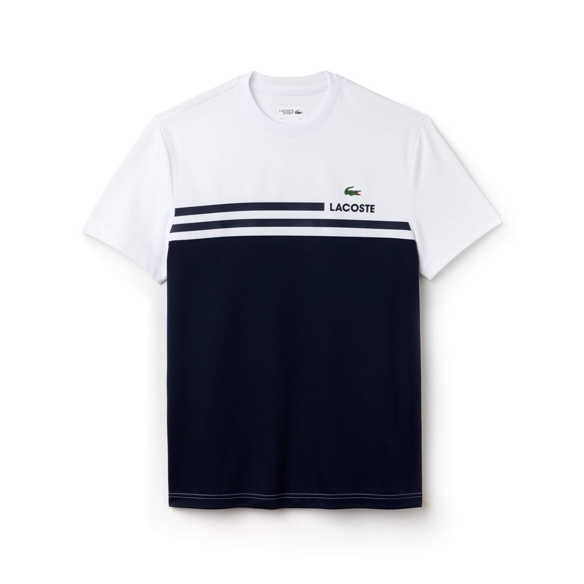 Lacoste Erkek Spor Beyaz T-Shirt