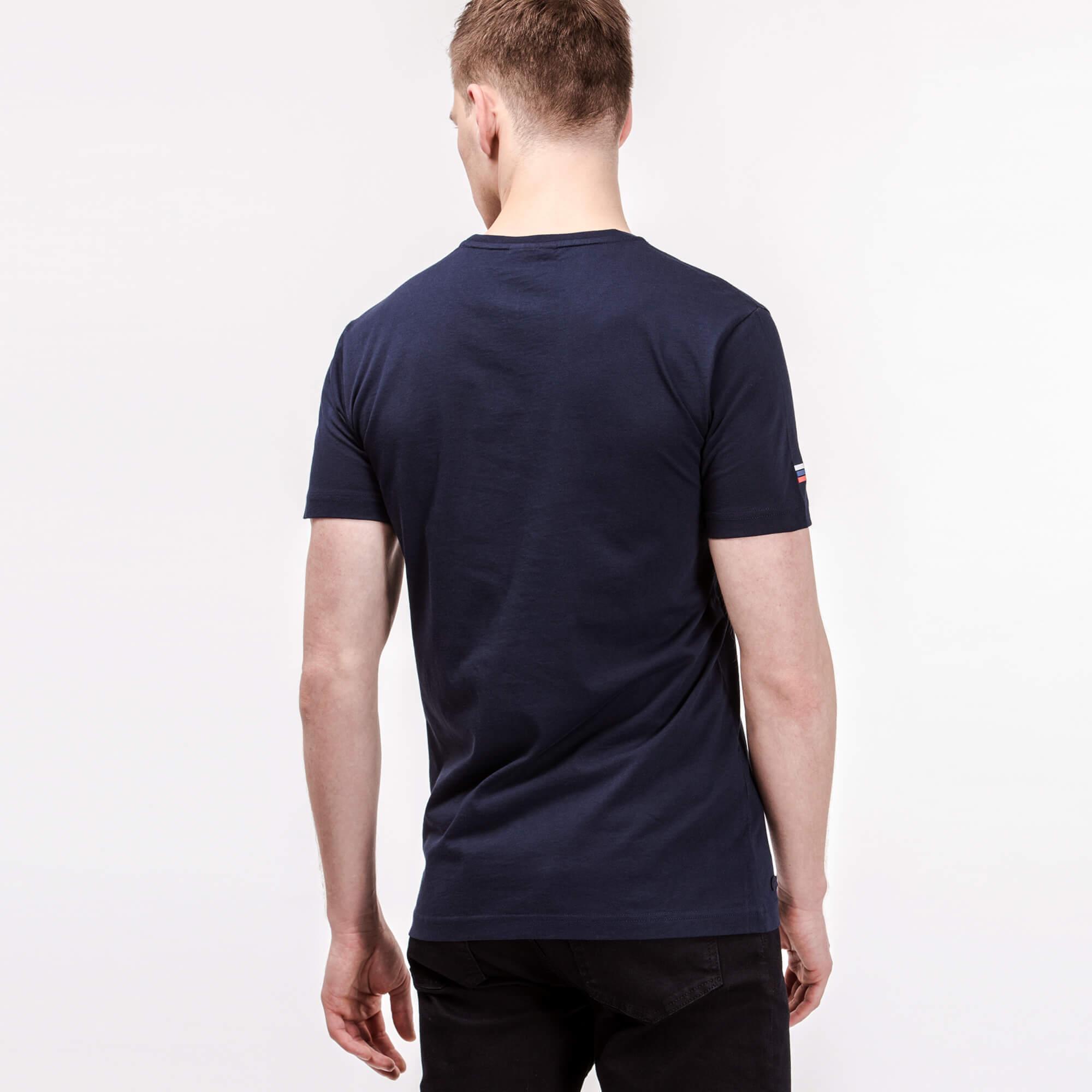 Lacoste Erkek Baskılı Lacivert T-Shirt
