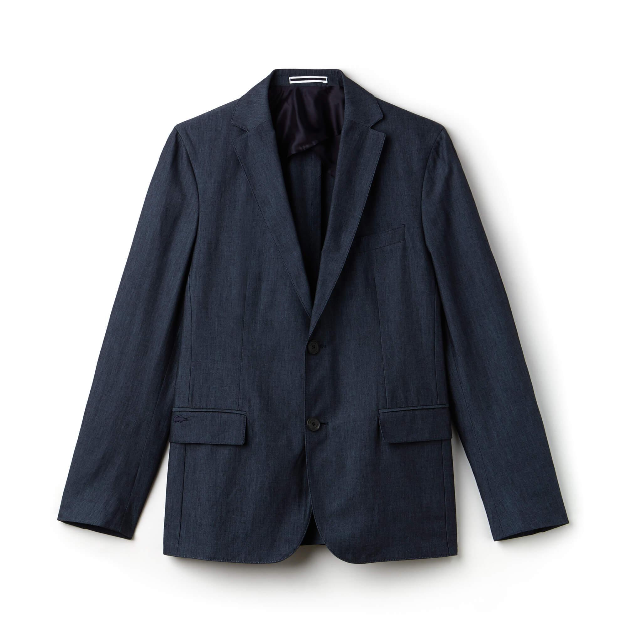 Lacoste Erkek Slim Fit  Lacivert Ceket