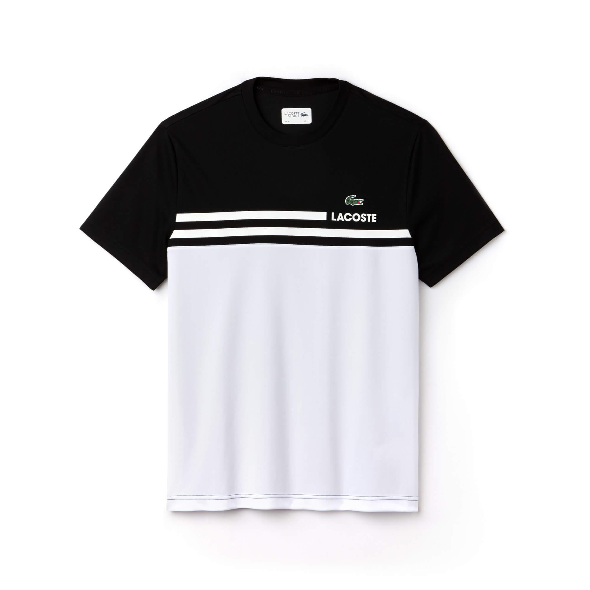 Lacoste Erkek Beyaz Spor T-Shirt