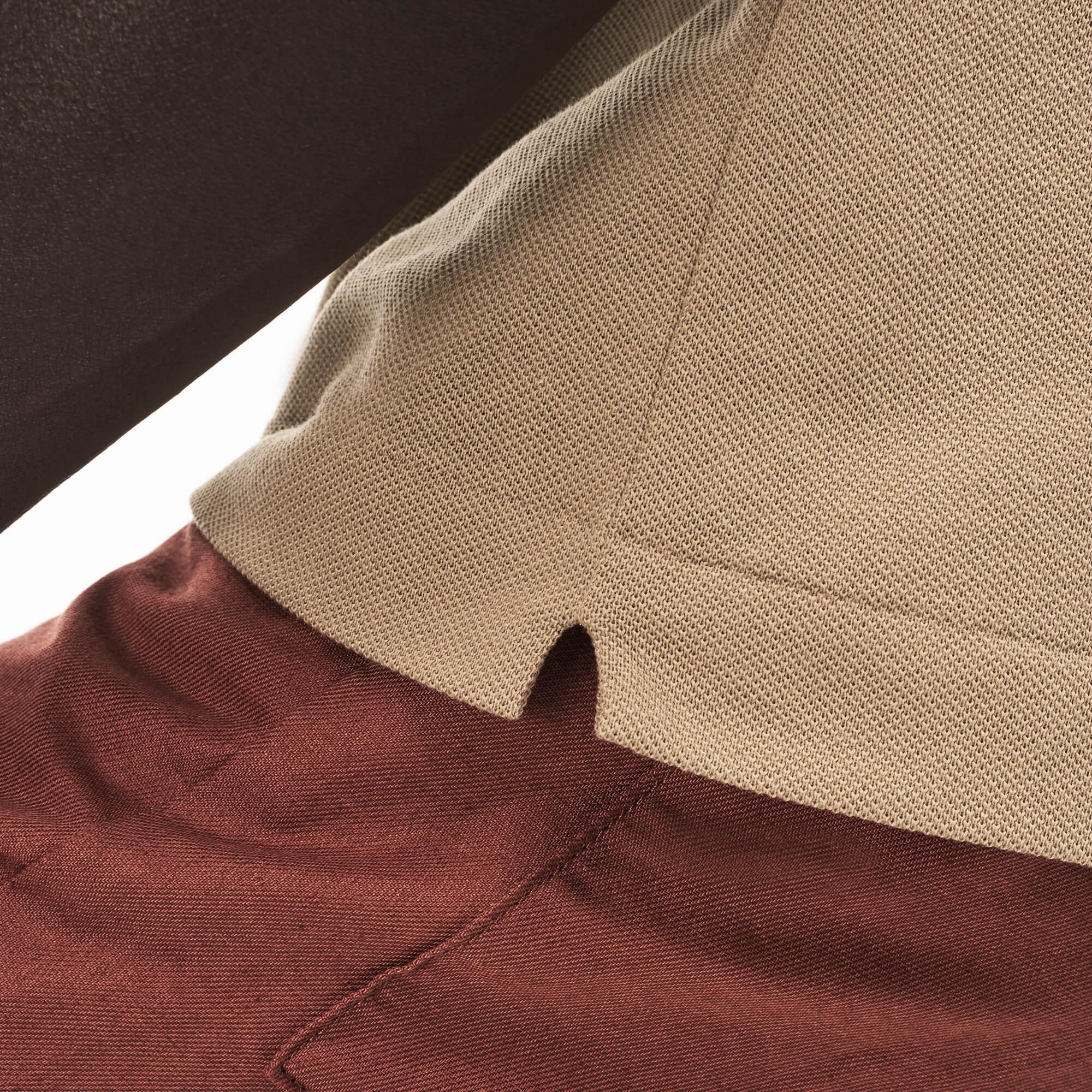 Lacoste Erkek Kahverengi L1212 Polo