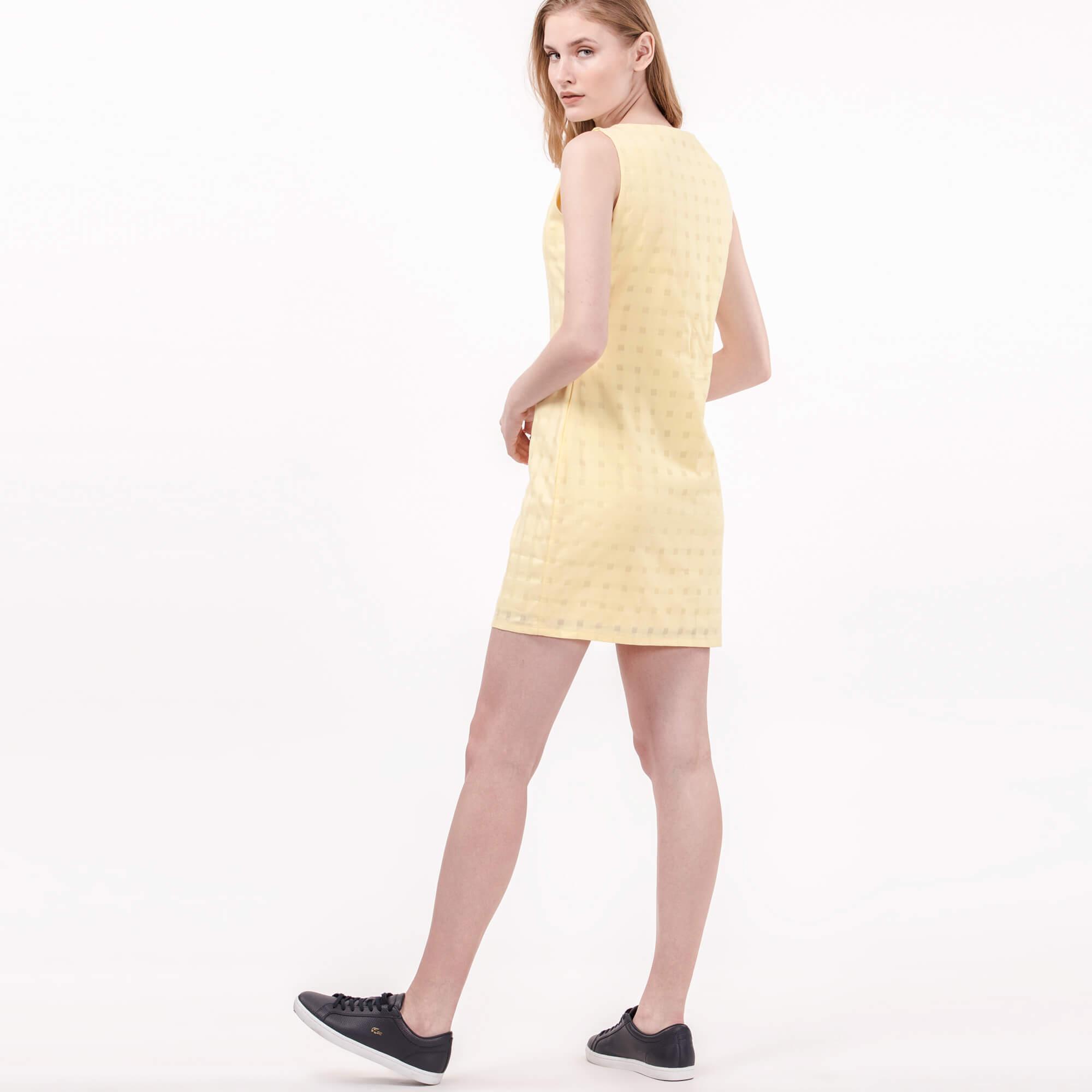 Lacoste Kadın Sarı Elbise