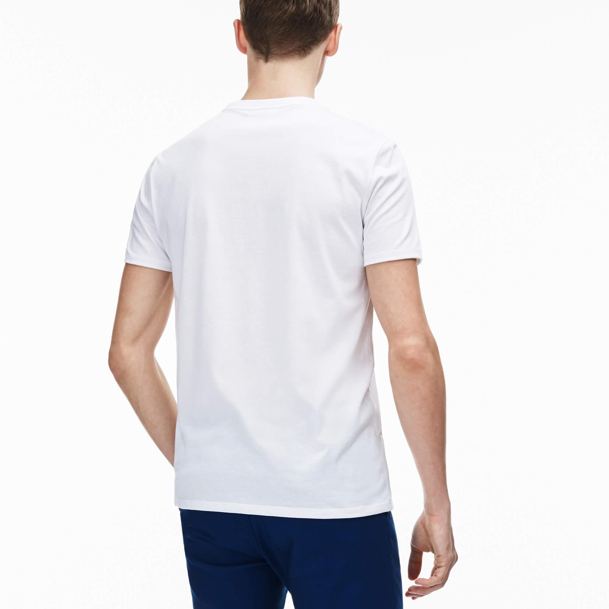 Lacoste Erkek Regular Fit V Yaka T-Shirt