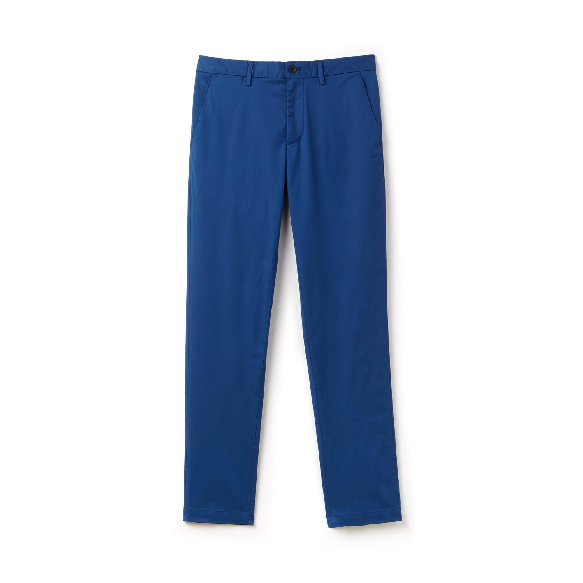 Lacoste Erkek Mavi Chino Pantolon
