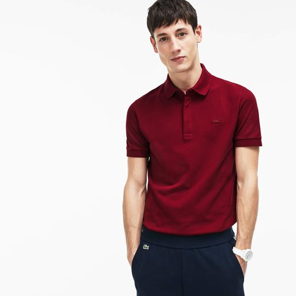 Lacoste Erkek Bordo Paris Polo