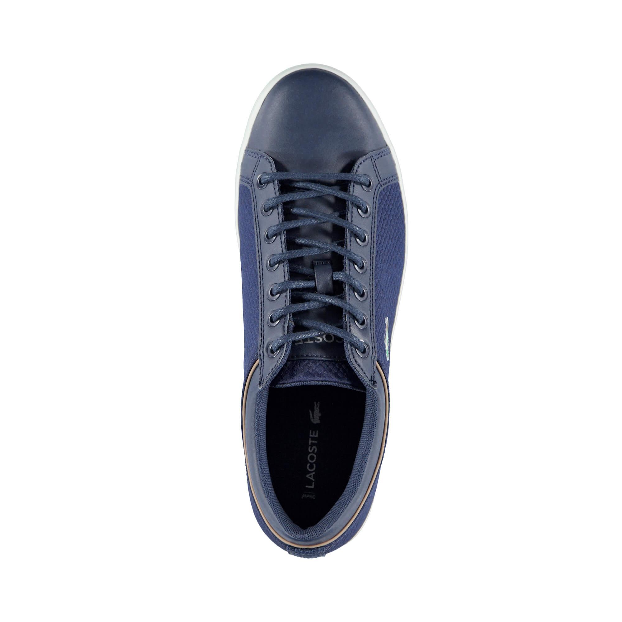 Lacoste Straightset Sport Erkek Lacivert Sneaker