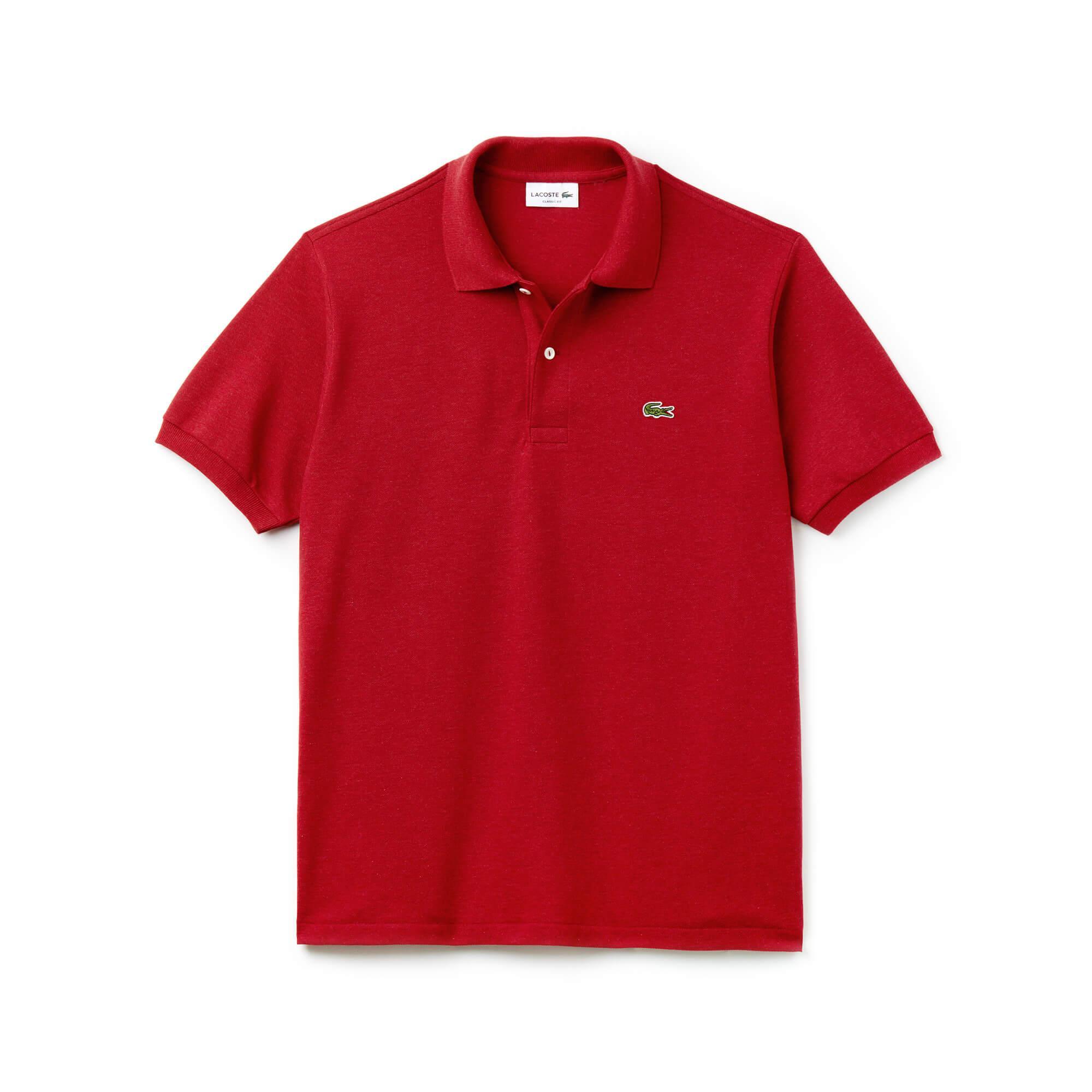 Lacoste Erkek Kırmızı Polo T-Shirt