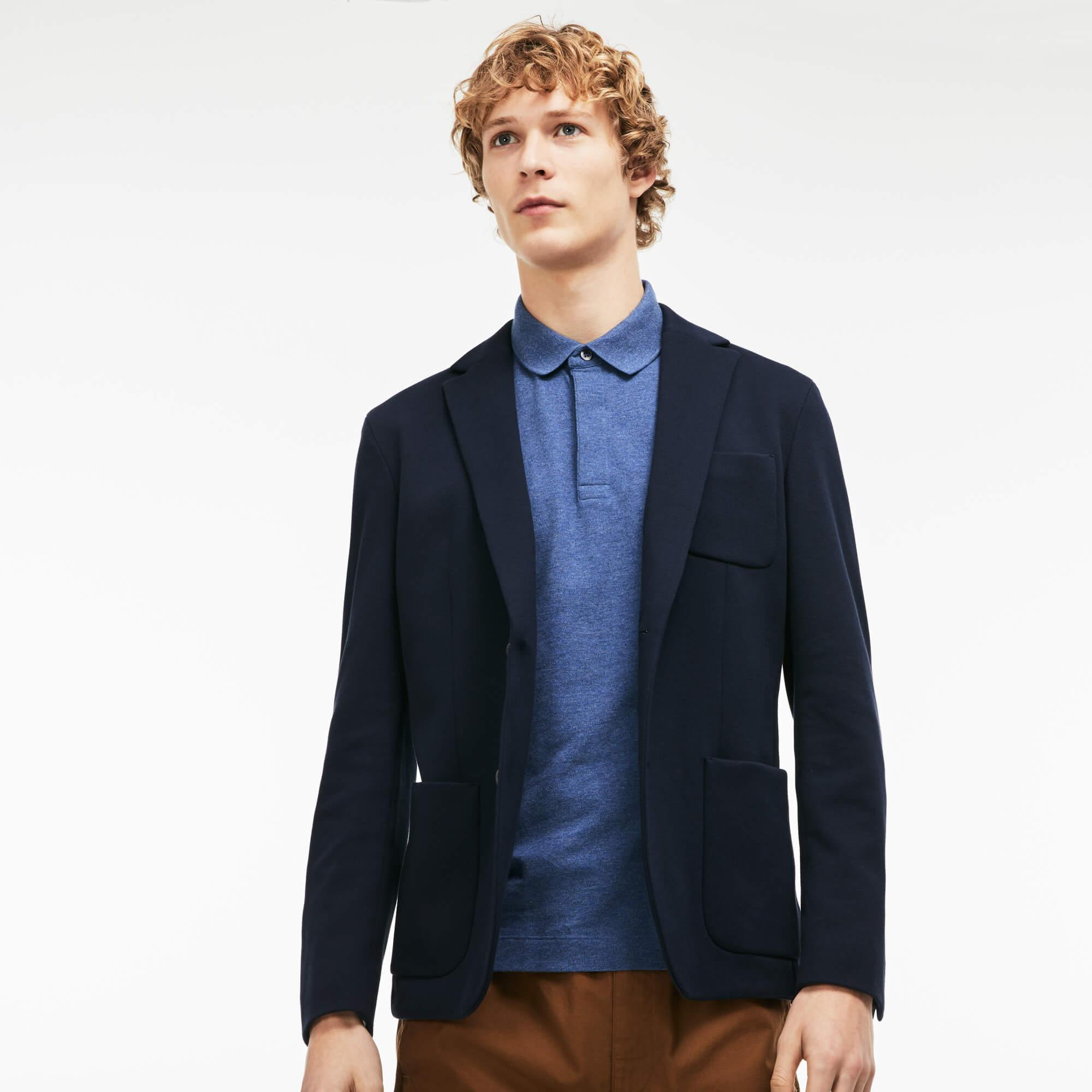 Lacoste Erkek Mavi Paris Polo