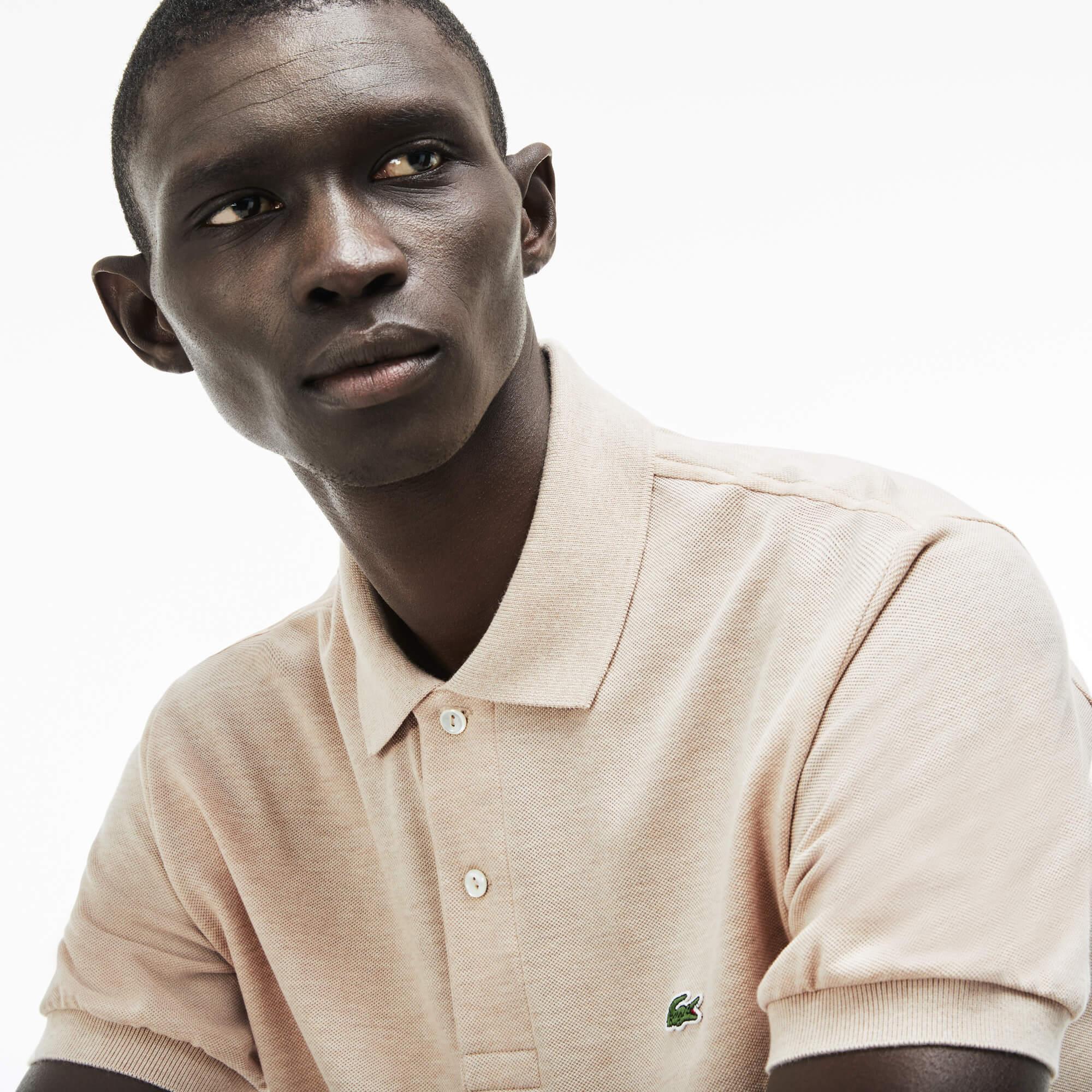 Lacoste Erkek Açık Kahverengi Polo T-Shirt