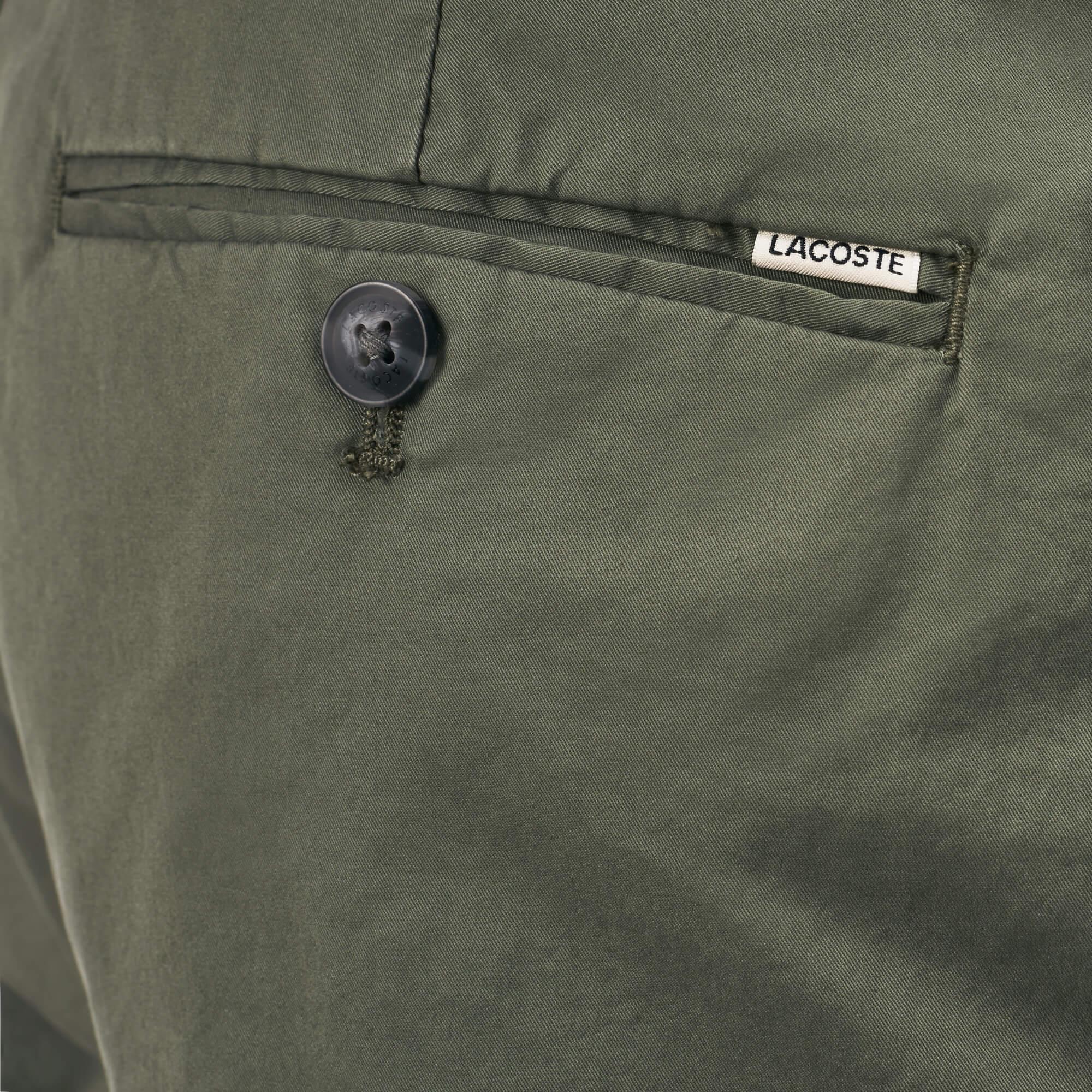 Lacoste Erkek Yeşil Chino Pantolon