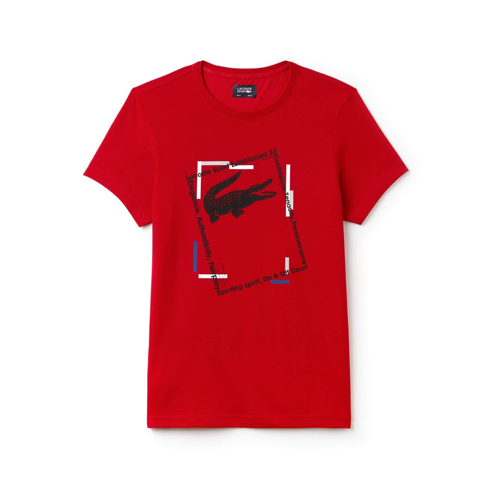 Lacoste Erkek Spor Kırmızı T-Shirt
