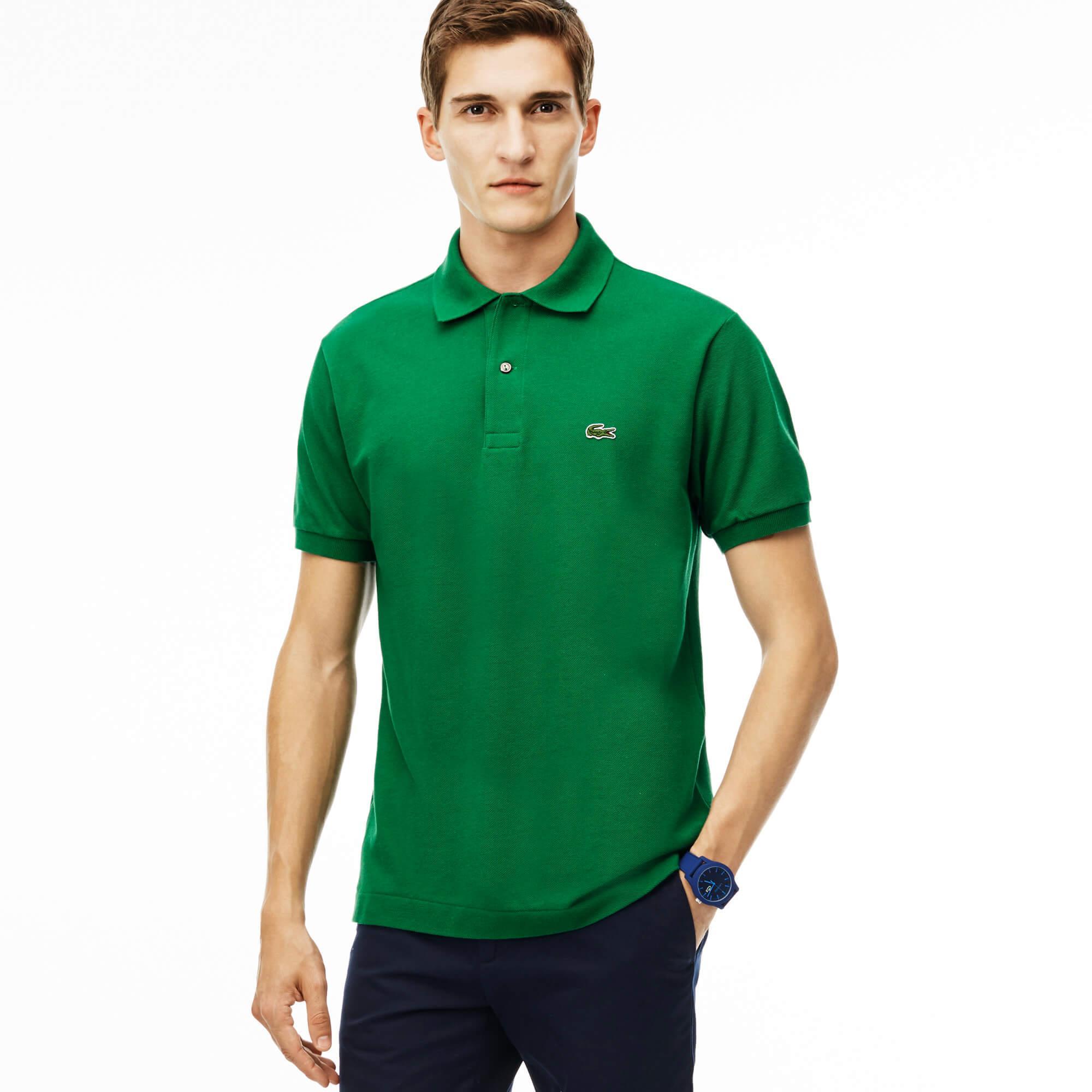 Lacoste Erkek Yeşil L1212 Polo