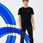 Lacoste Erkek Novak Djokovic Siyah T-Shirt