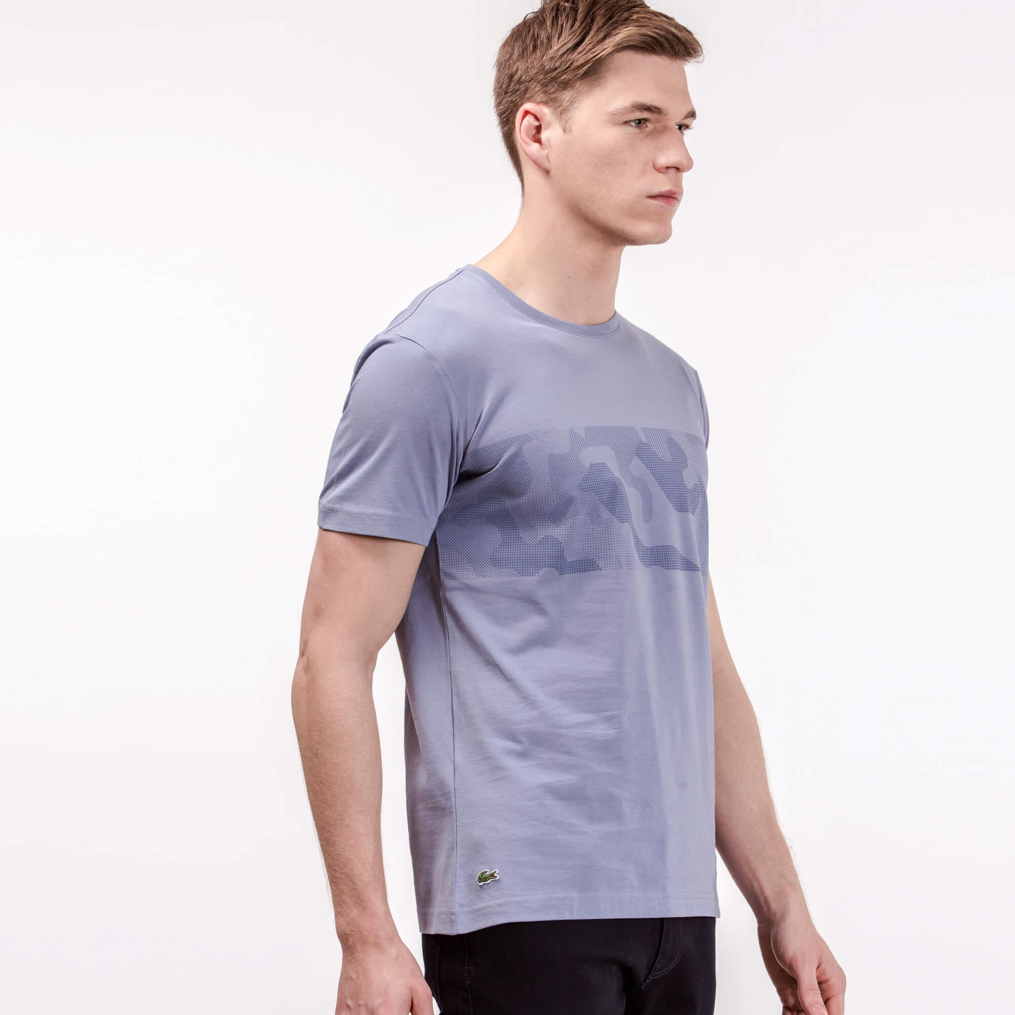 Lacoste Erkek Slim Fit Lila T-Shirt