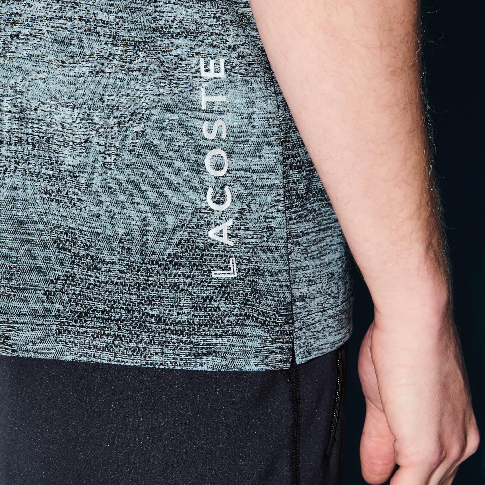 Lacoste Erkek Gri Spor T-Shirt