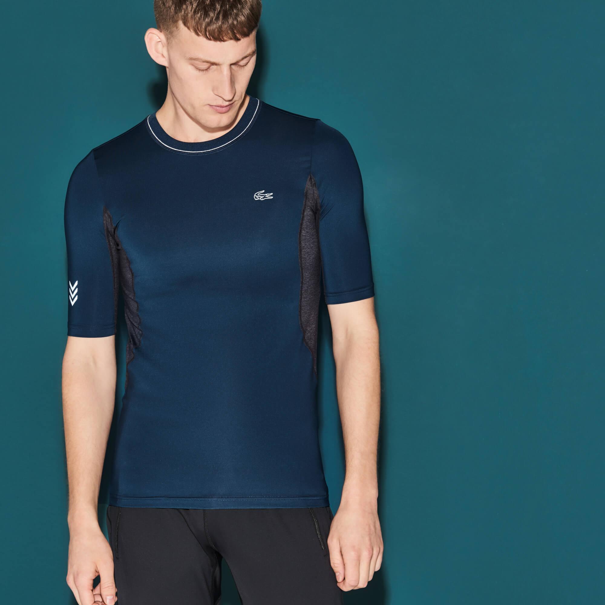 Lacoste Erkek Tenis Lacivert T-Shirt