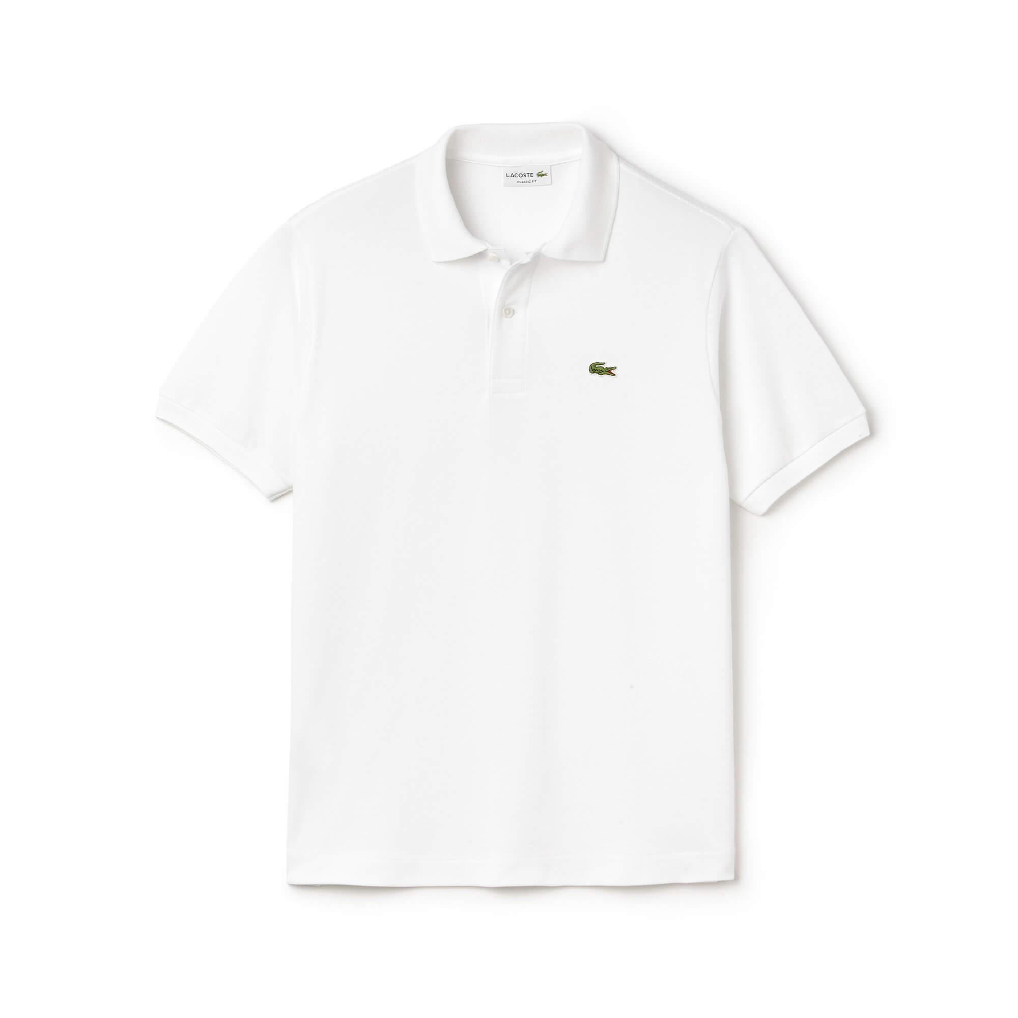 Lacoste Erkek Beyaz L1212 Polo