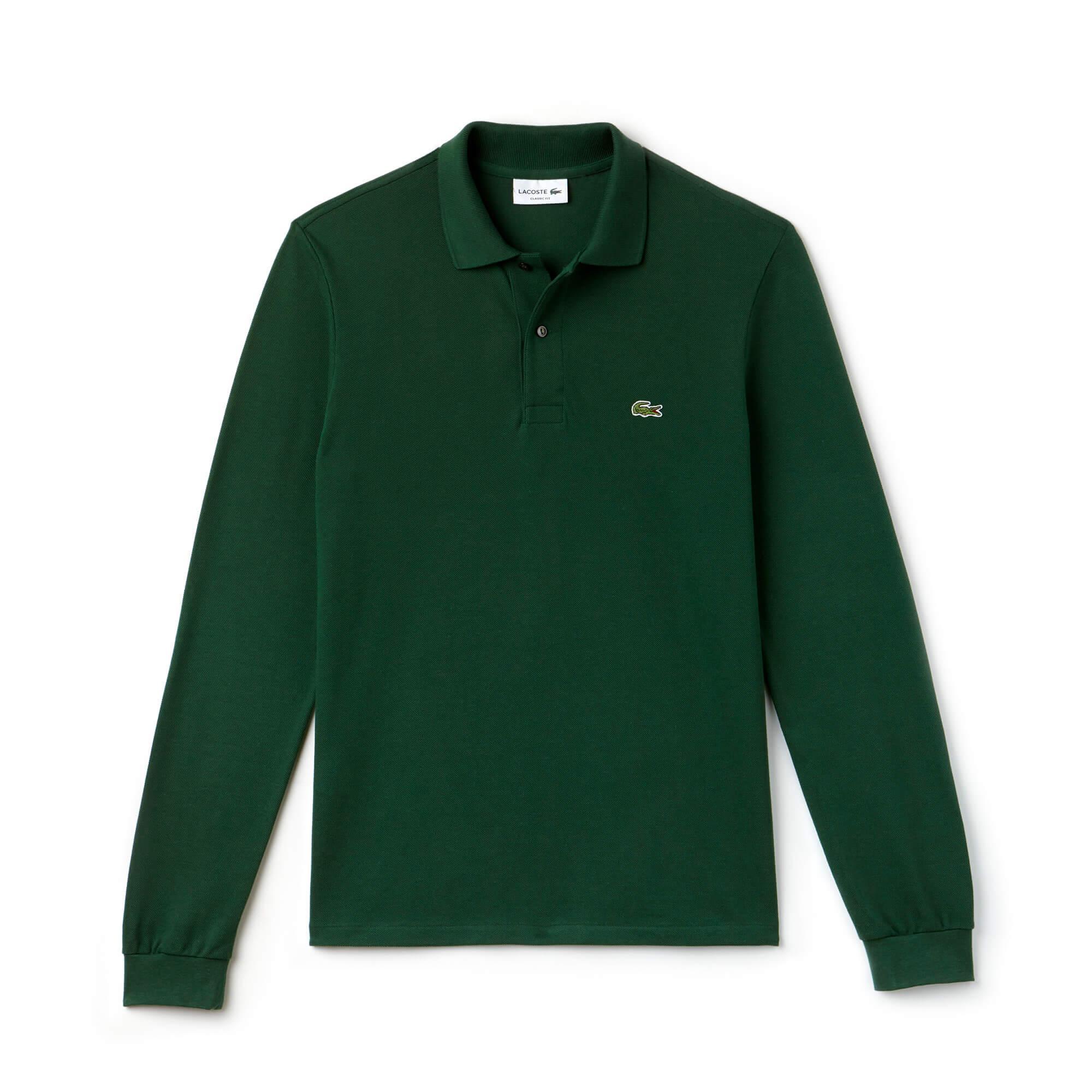 Lacoste Erkek Yeşil L1312 Polo