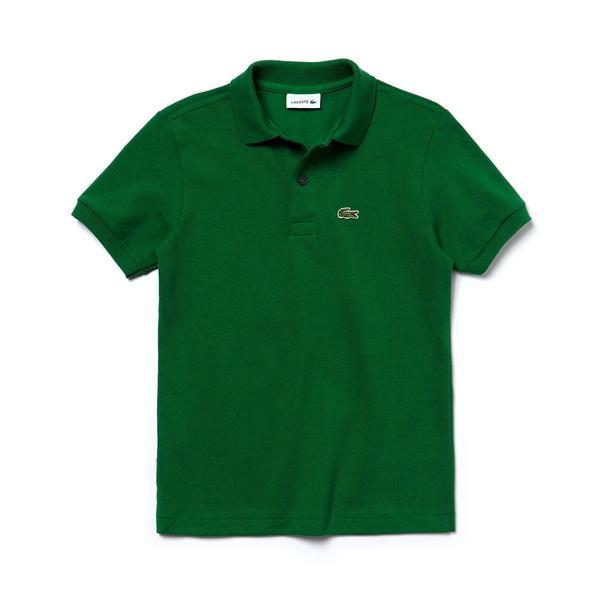 Lacoste Çocuk Yeşil Polo