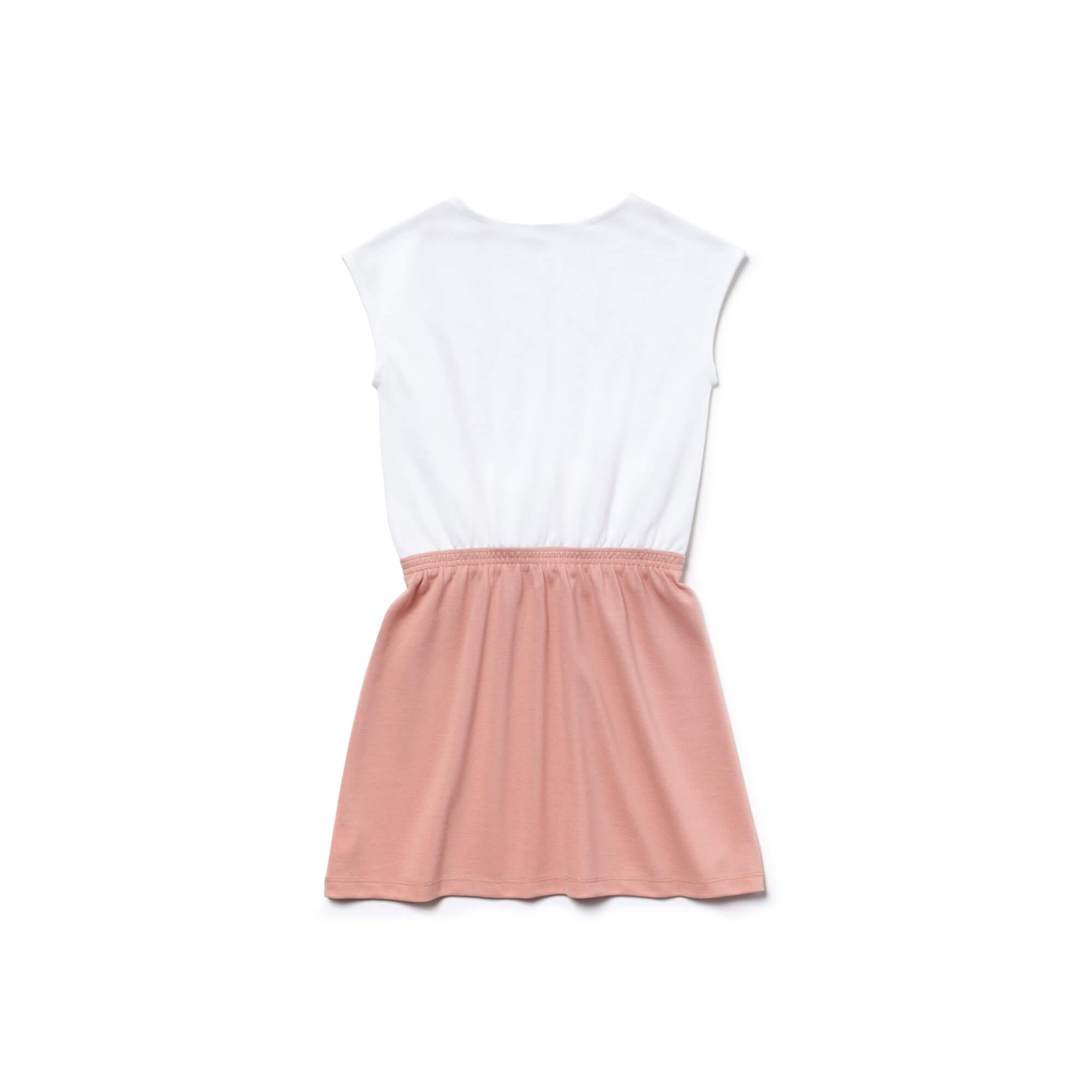 Lacoste Kız Çocuk Pembe Elbise