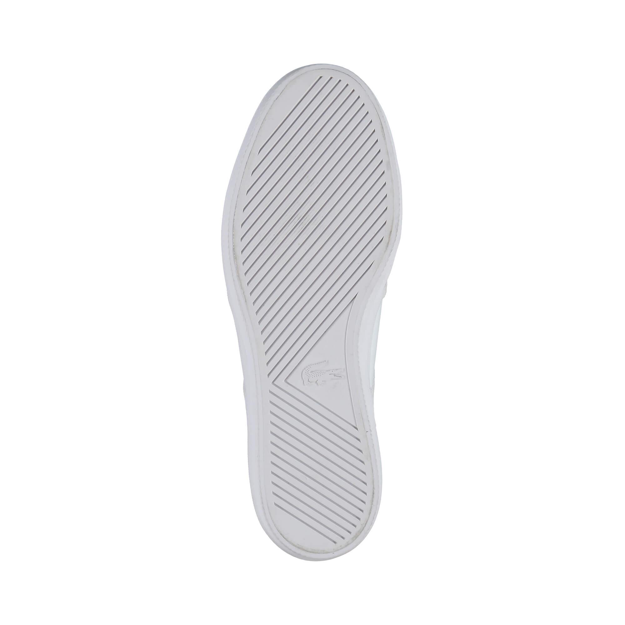 Lacoste Gazon Erkek Beyaz Slip-On