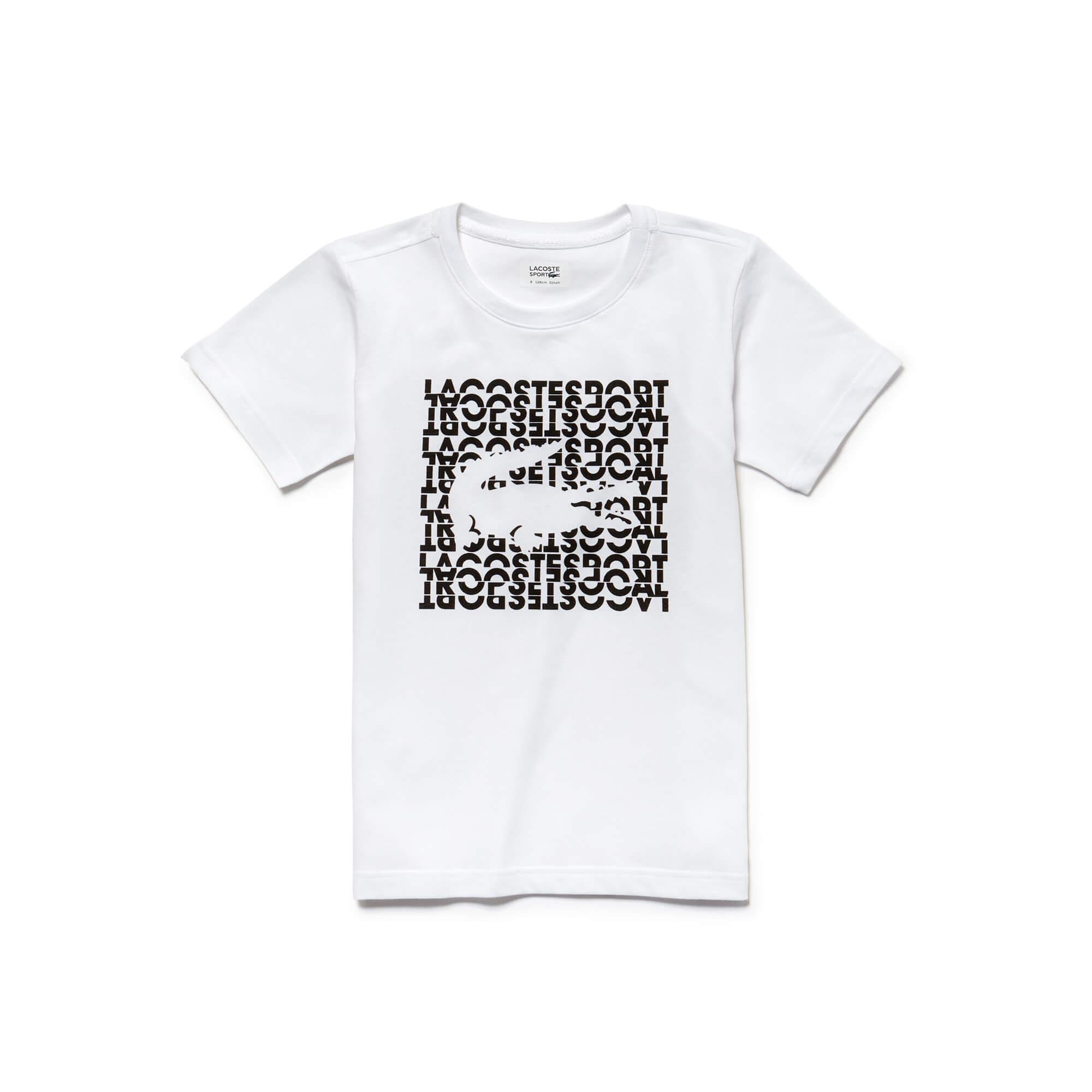 Lacoste Erkek Çocuk Beyaz T-Shirt