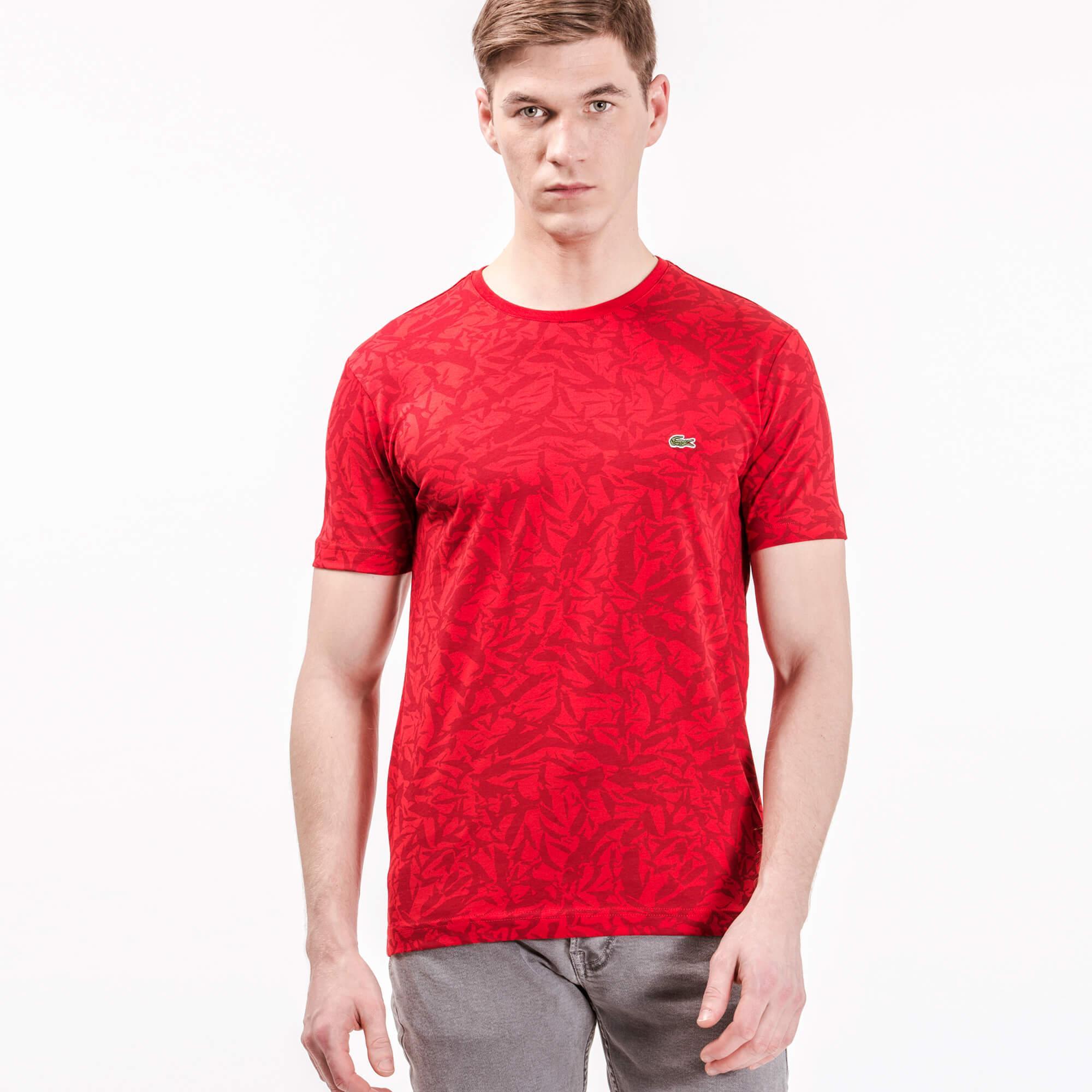 Lacoste Erkek Slim Fit Kırmızı T-Shirt