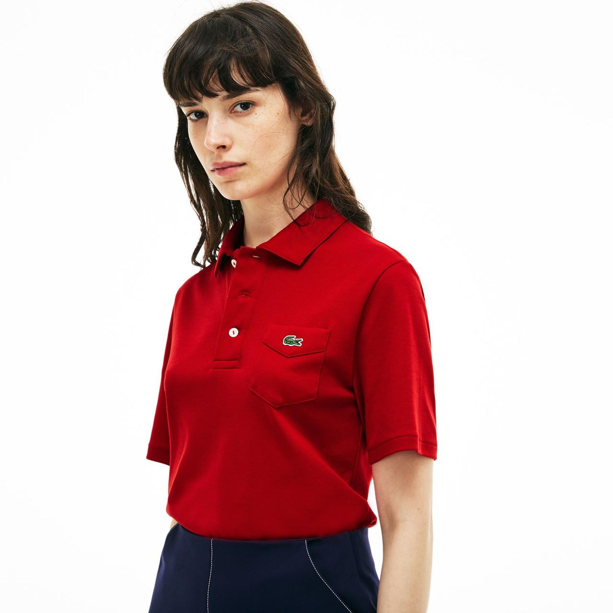 Lacoste Unisex Kırmızı Polo