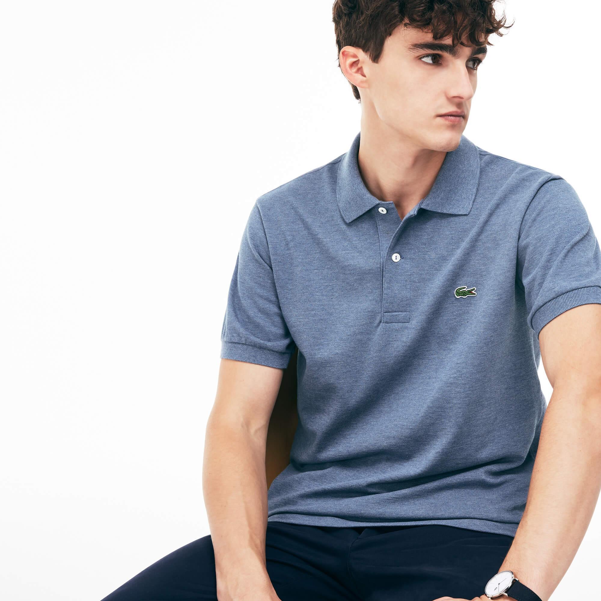 Lacoste Erkek Mavi Polo T-Shirt