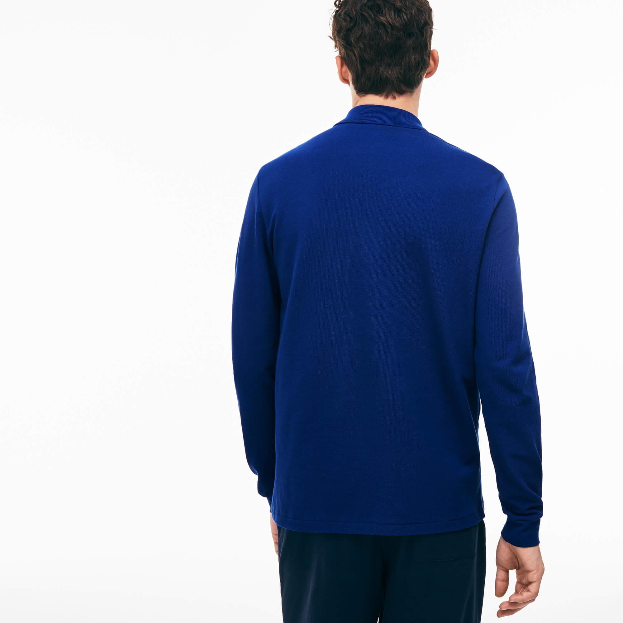 Lacoste Erkek Mavi L1312 Polo T-Shirt
