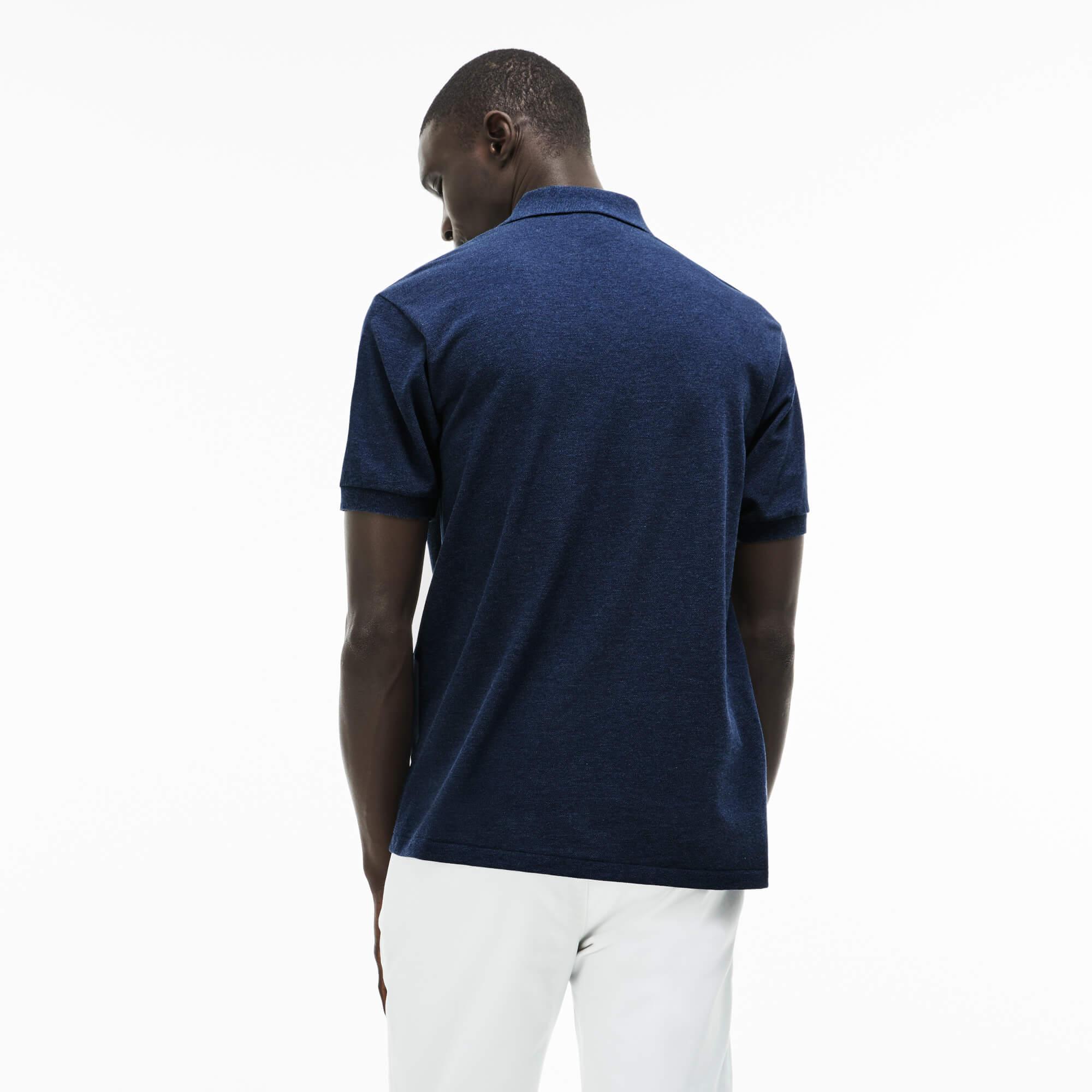 Lacoste Erkek Lacivert Polo T-Shirt