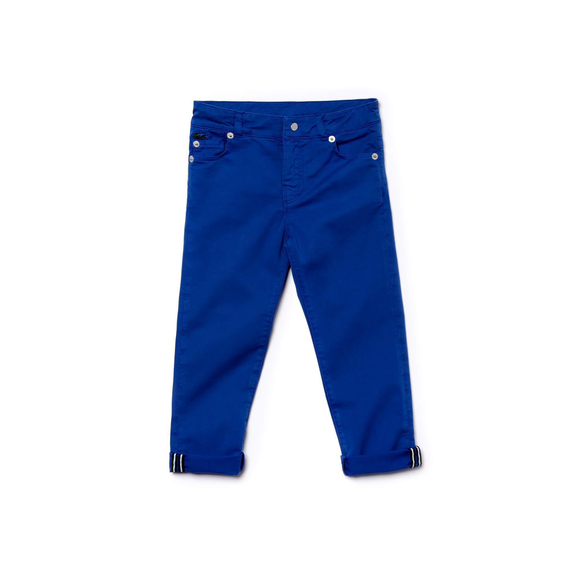 Lacoste Erkek Çocuk Mavi Pantolon