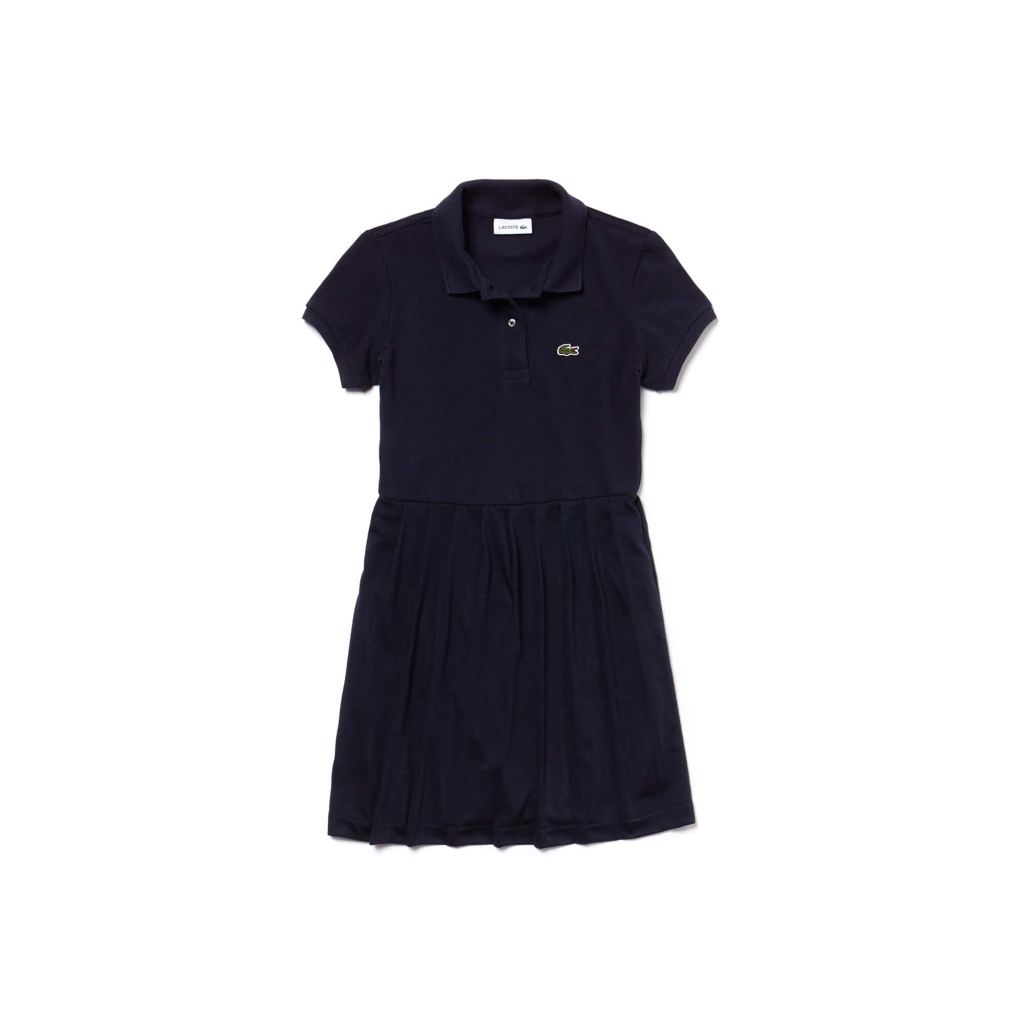 Lacoste Kız Çocuk Lacivert Elbise
