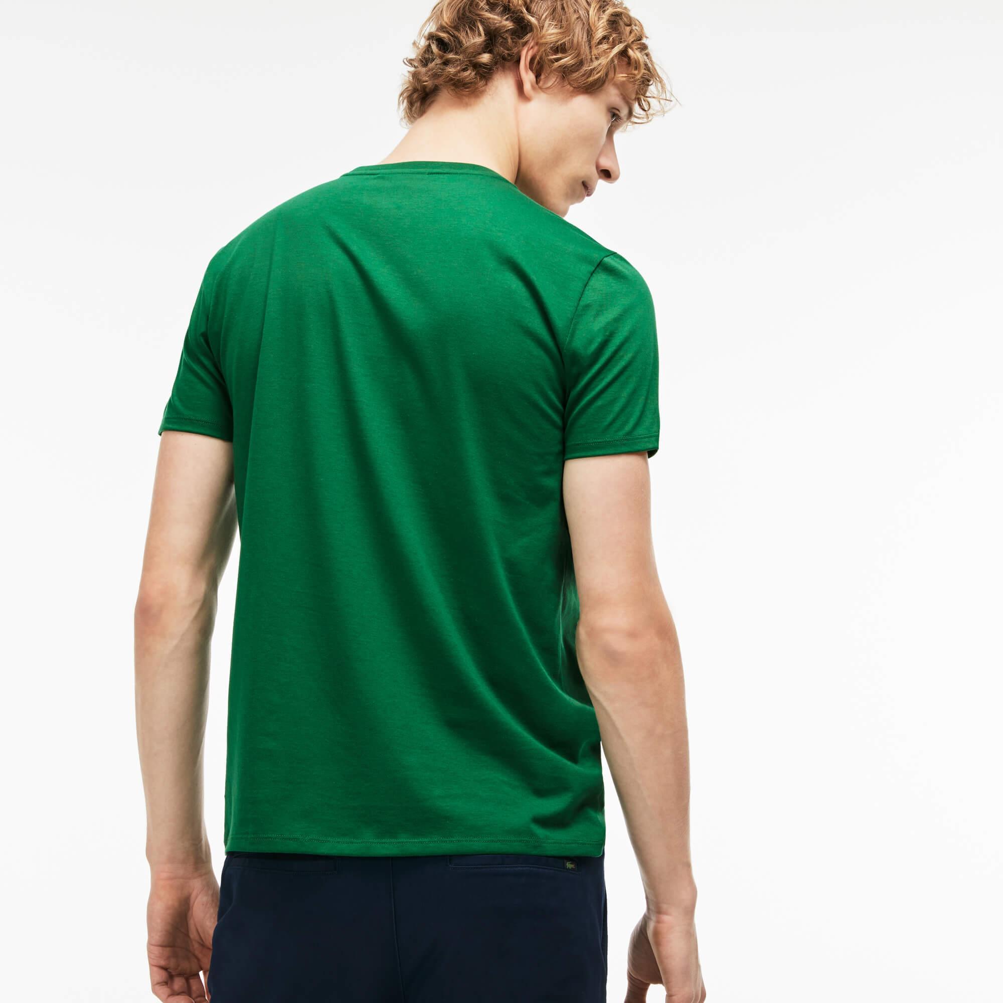 Lacoste Erkek Regular Fit Yeşil T-Shirt