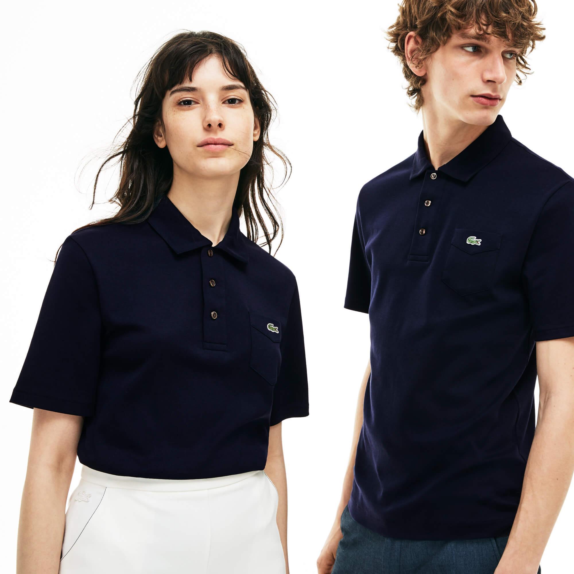 Lacoste Unisex Lacivert Polo T-Shirt