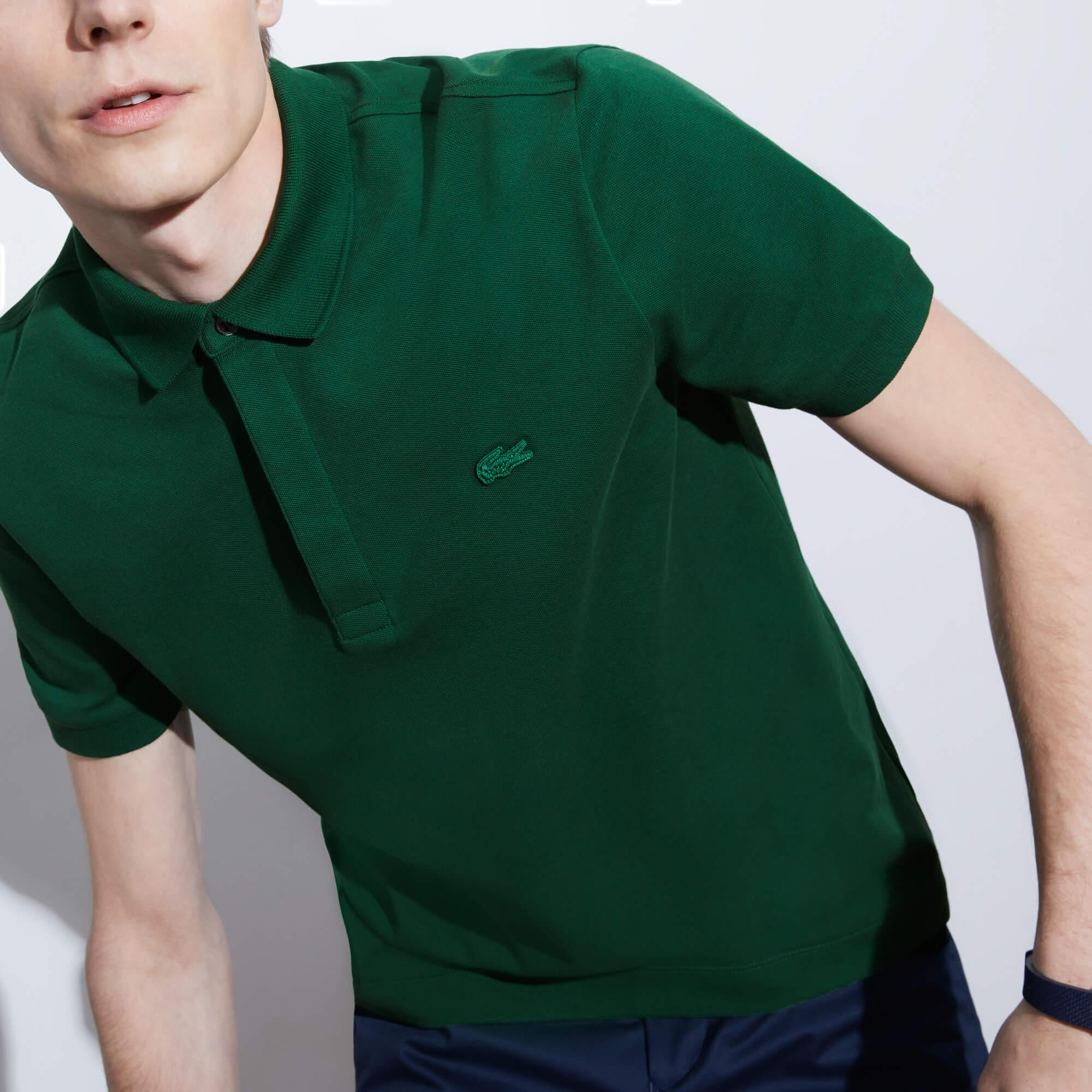 Lacoste Erkek Yeşil Paris Polo