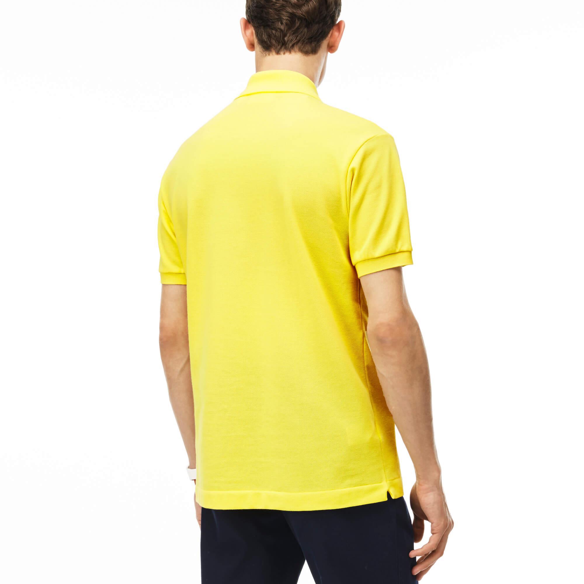 Lacoste Erkek Sarı L1212 Polo
