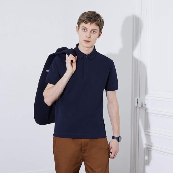 Lacoste Erkek Lacivert Paris Polo