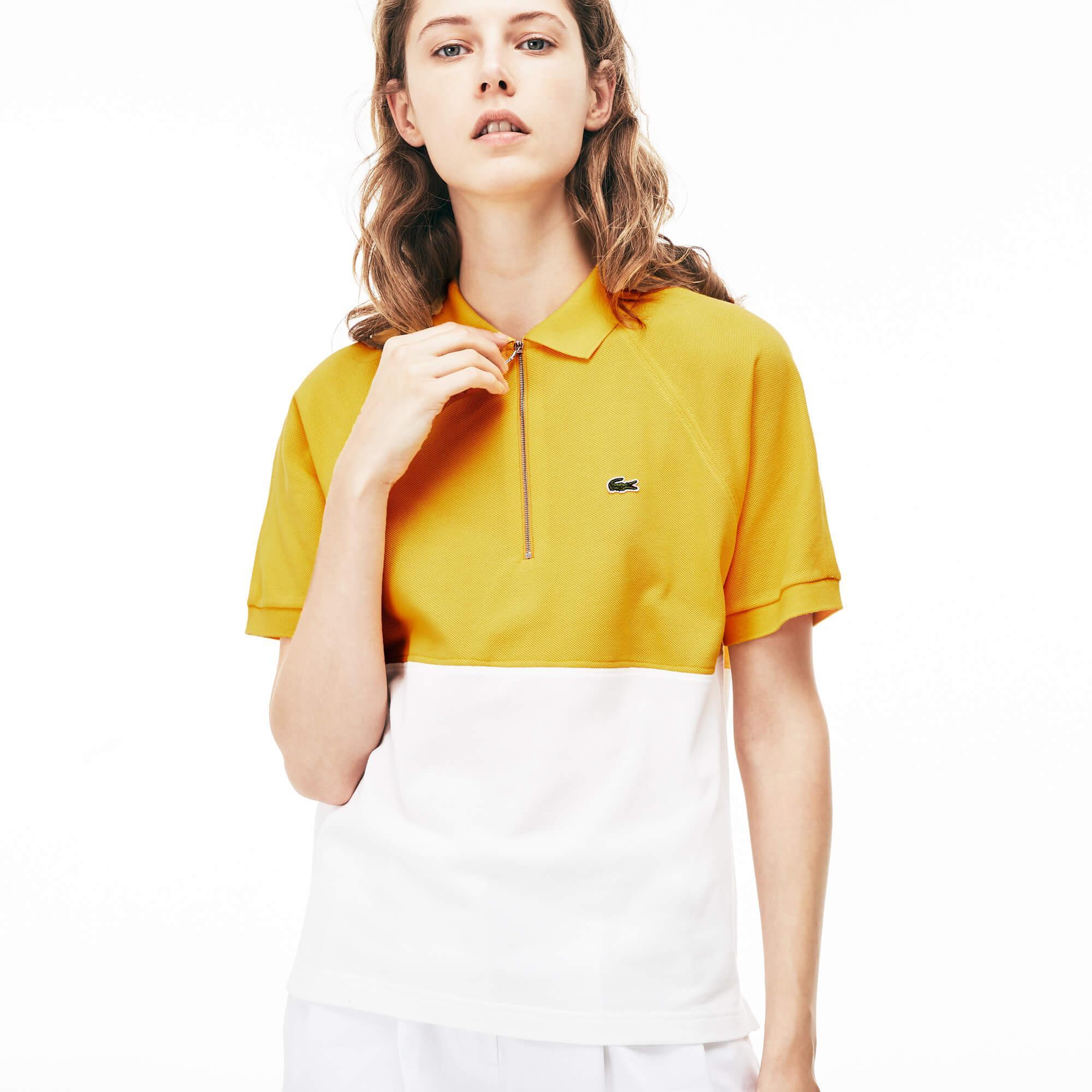 Lacoste Kadın Sarı Polo