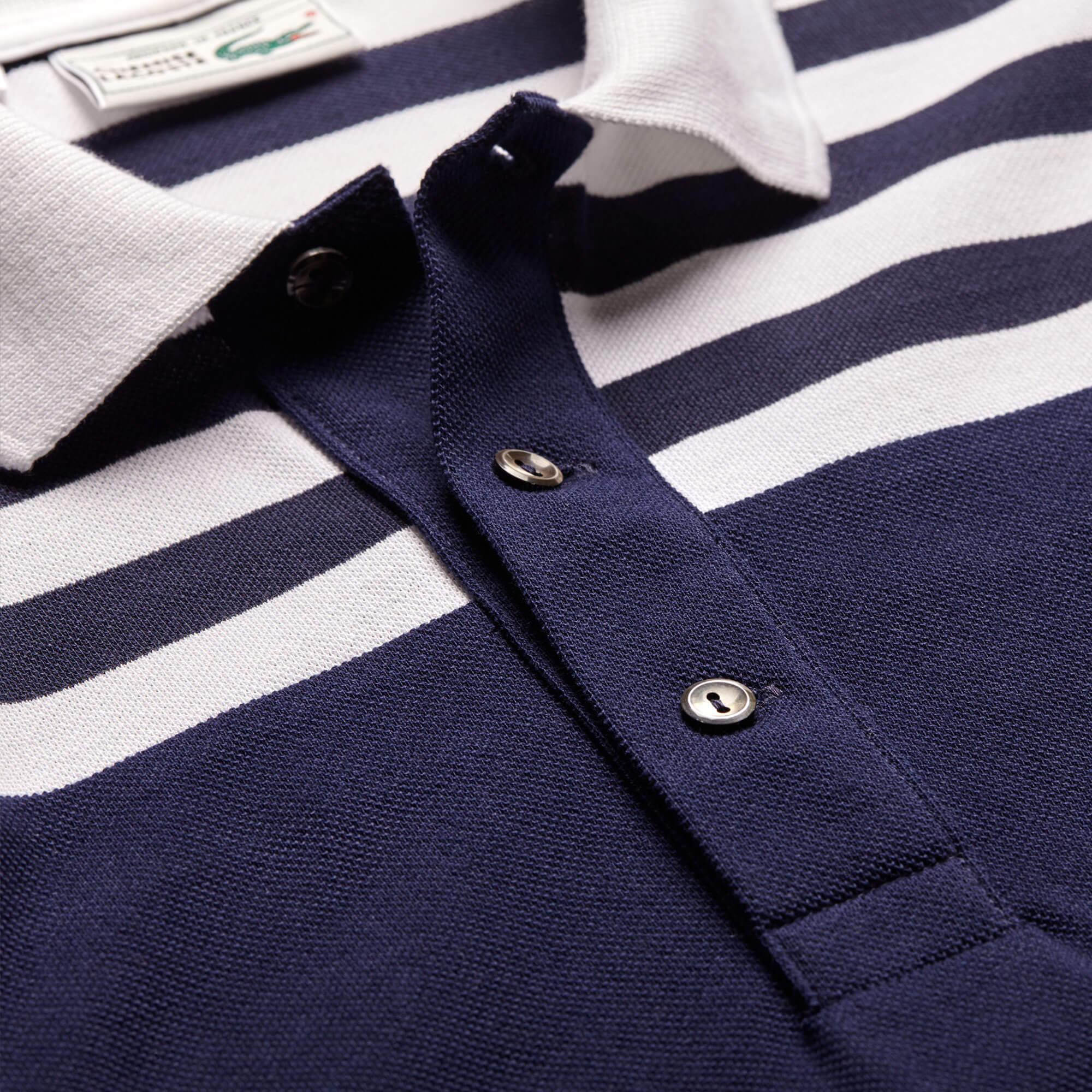 Lacoste Unisex Classic Fit Lacivert Polo