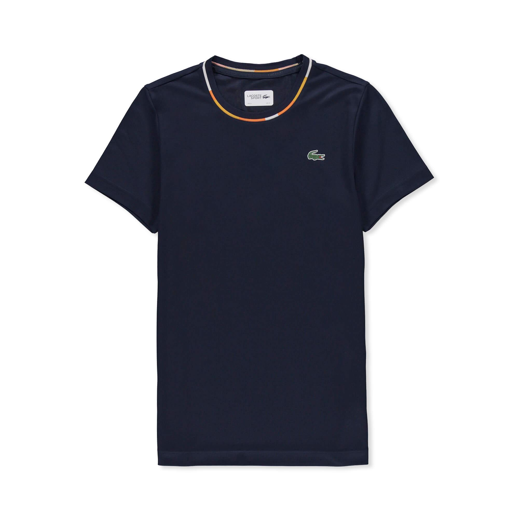 Lacoste Erkek Spor Lacivert T-Shirt