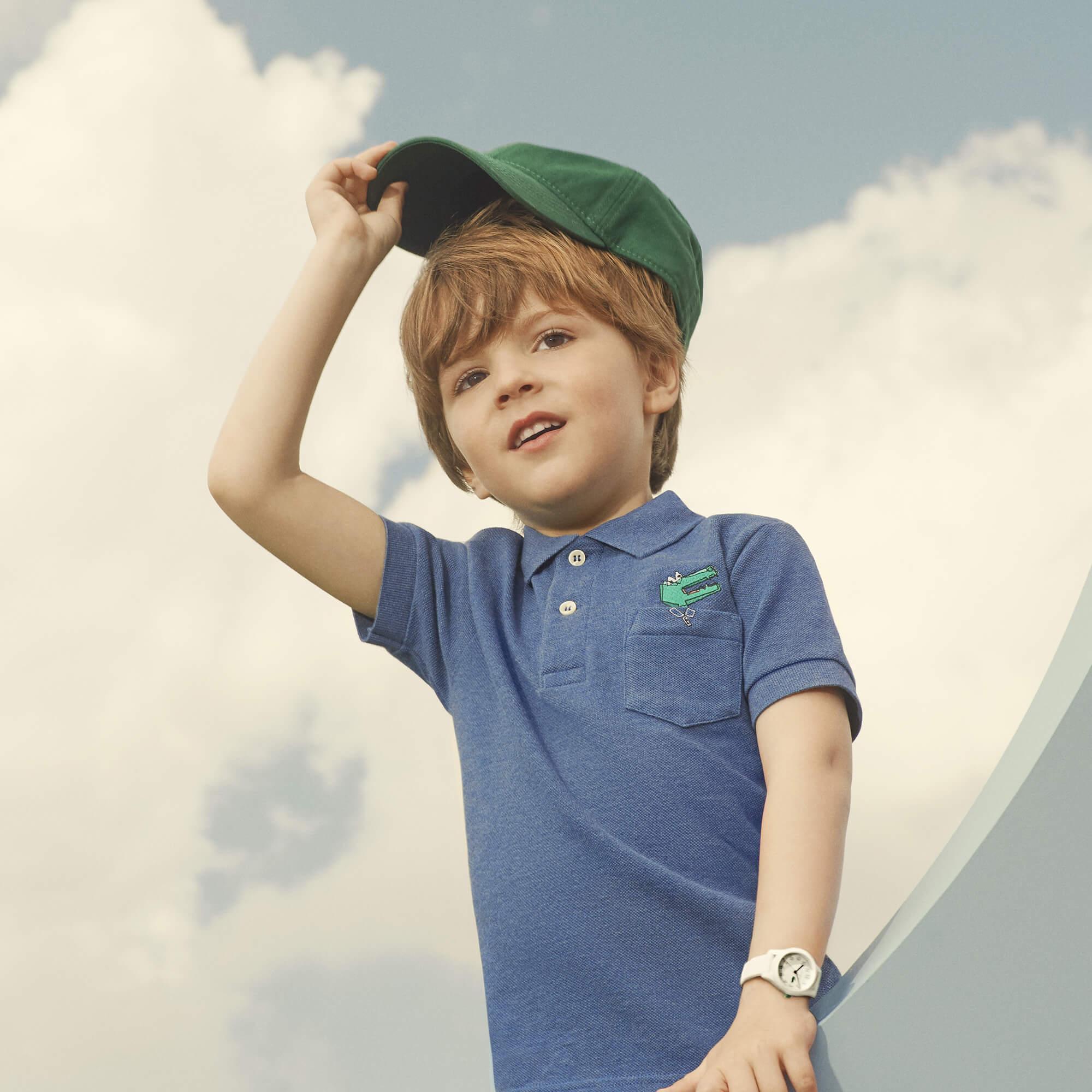 Lacoste Erkek Çocuk Lacivert Polo