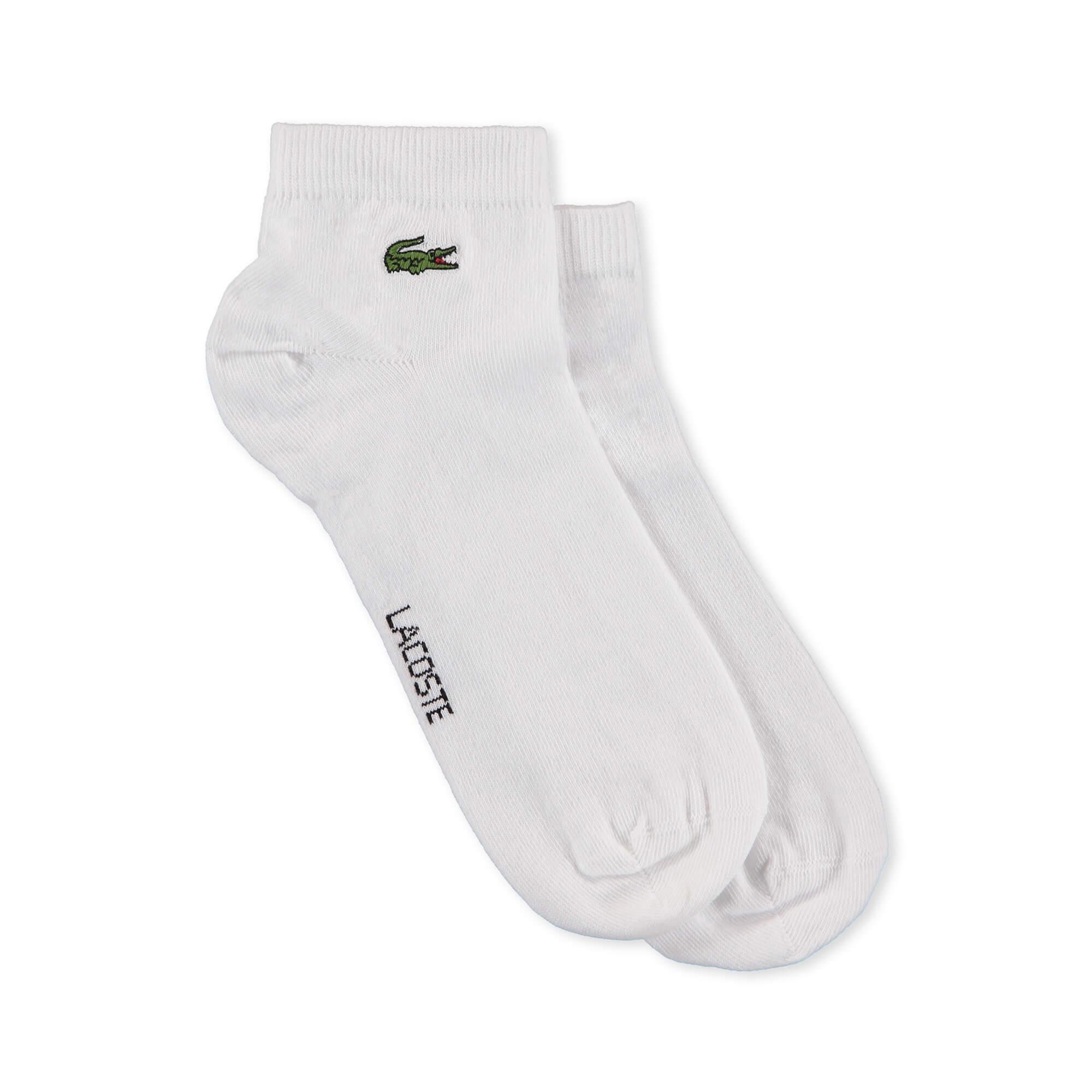 Lacoste Kadın Beyaz Spor Çorap